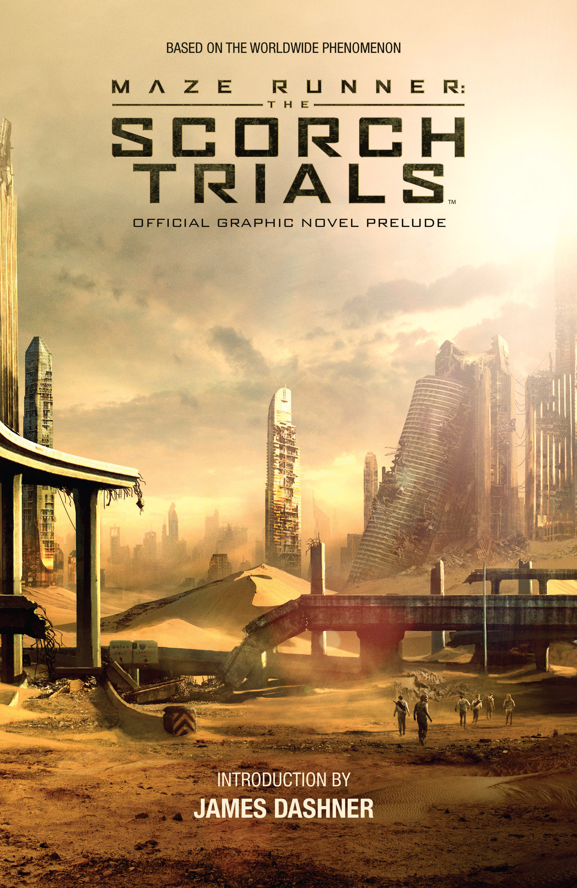 Maze Runner: The Scorch Trials Official Graphic Novel Prelude TPB Page 1