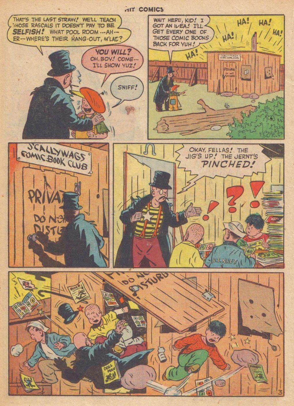 Read online Hit Comics comic -  Issue #46 - 26