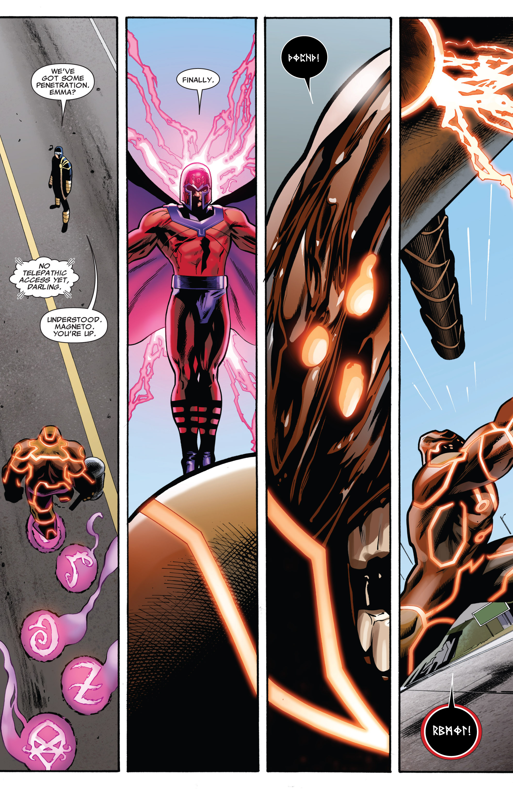 Read online Uncanny X-Men (1963) comic -  Issue #541 - 12