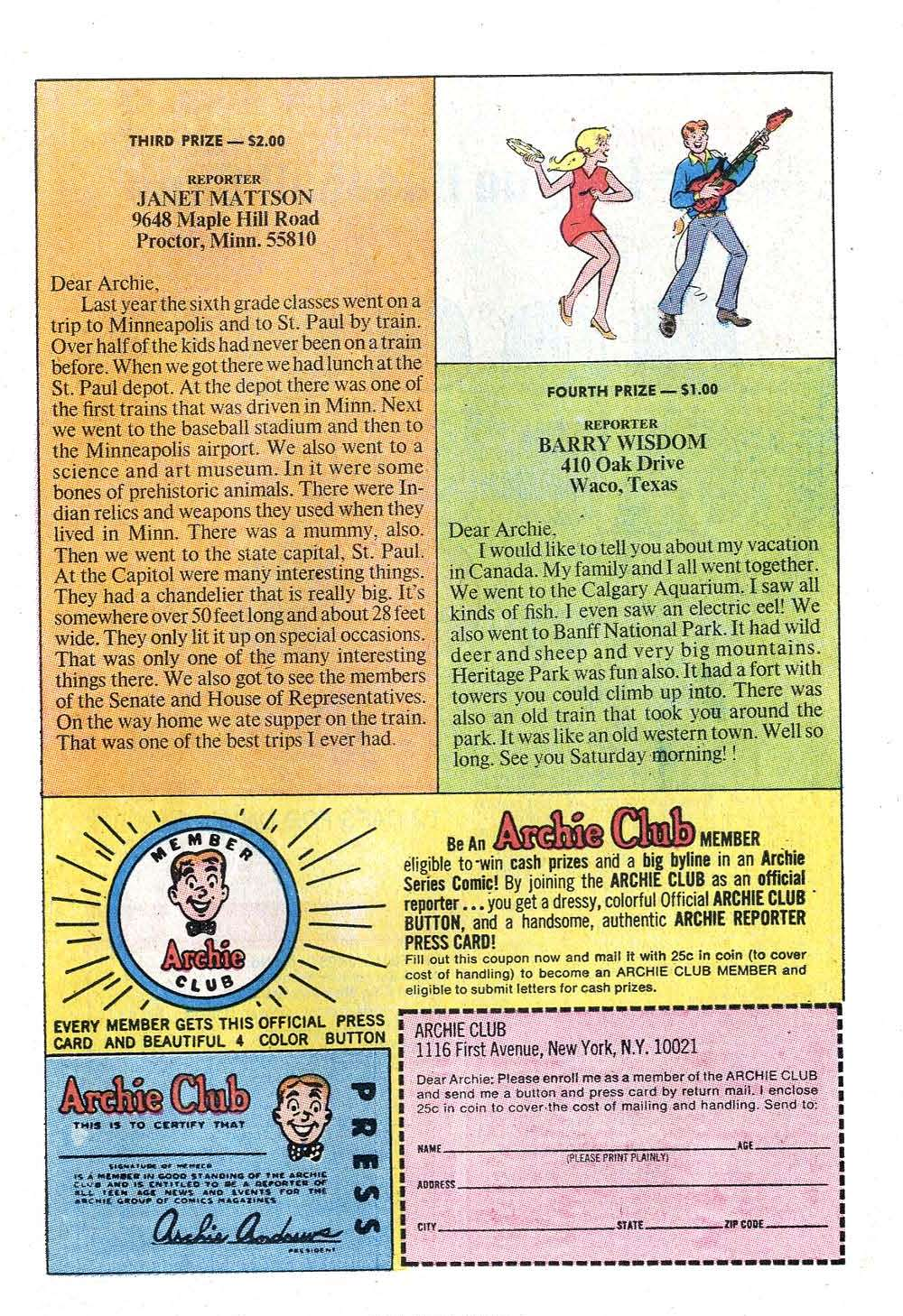 Read online Archie (1960) comic -  Issue #202 - 11