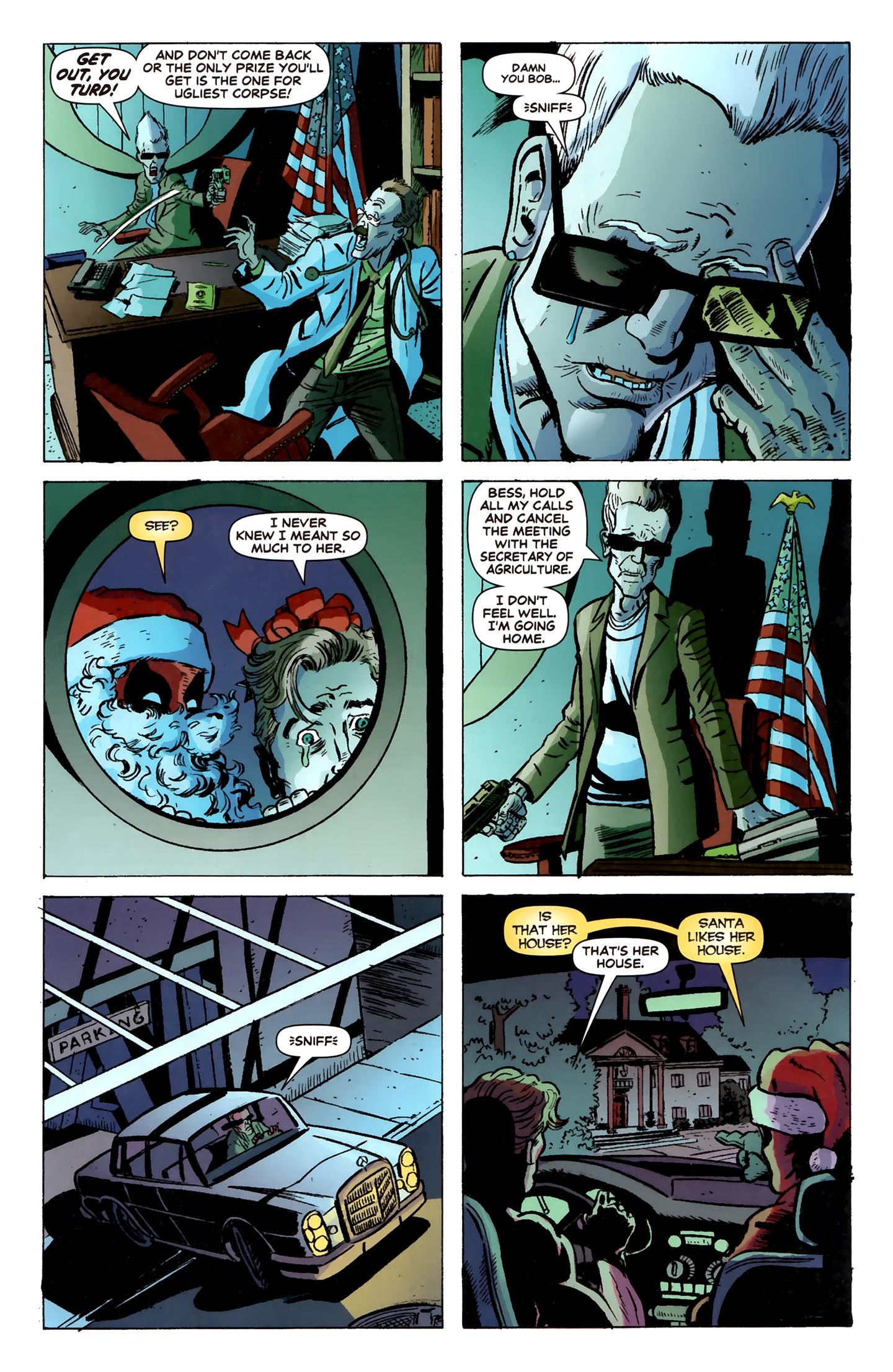 Read online Deadpool MAX X-Mas Special comic -  Issue # Full - 10