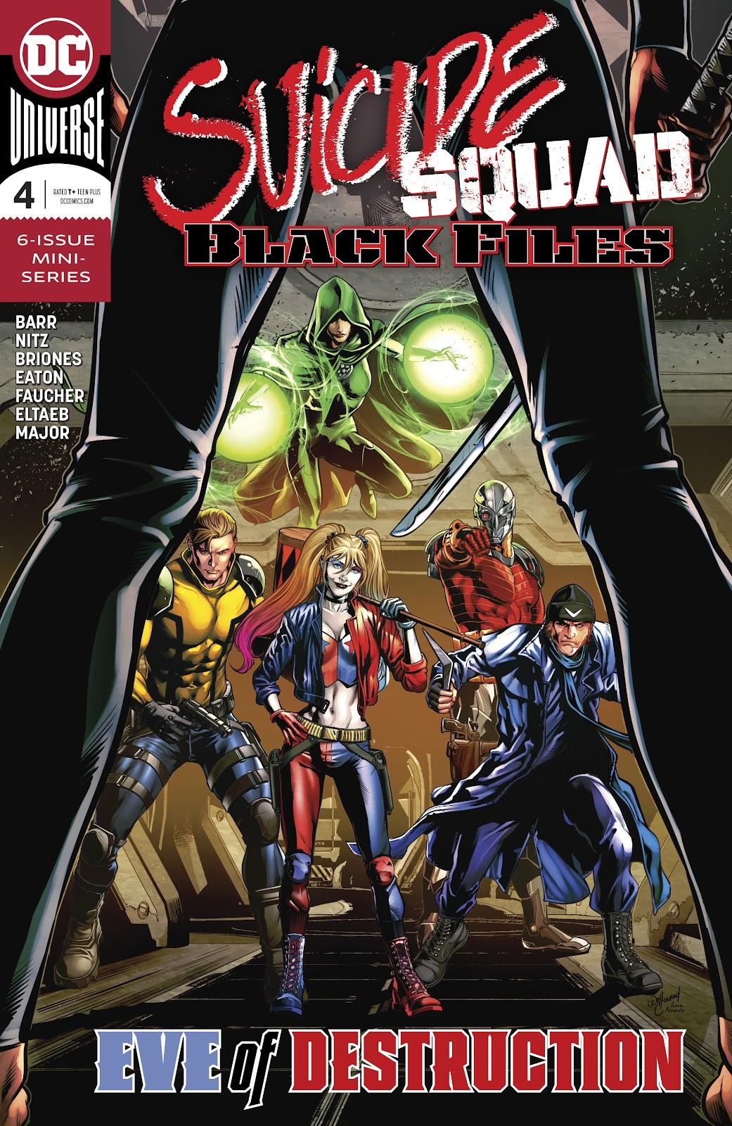 Read online Suicide Squad Black Files comic -  Issue #4 - 1