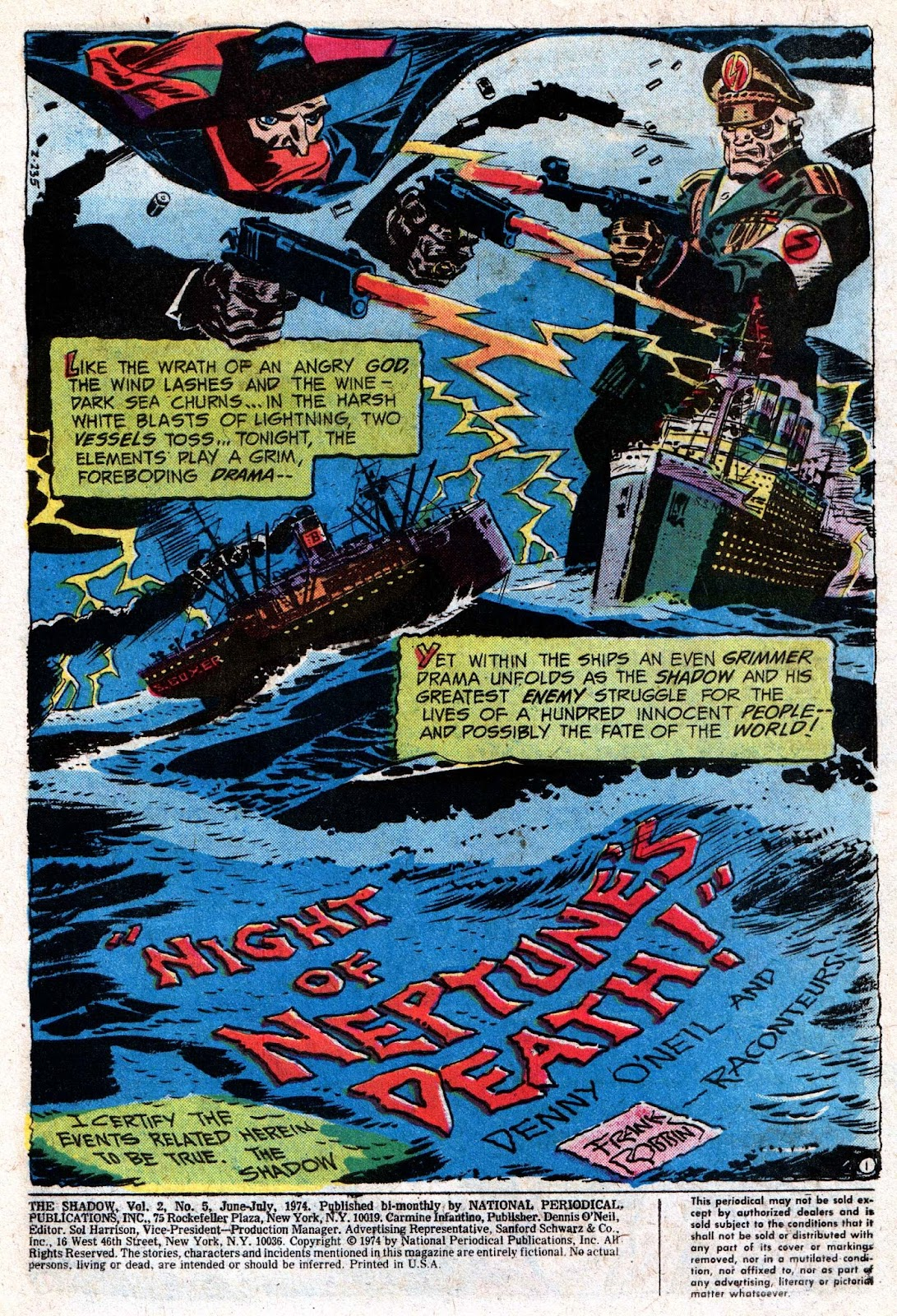 The Shadow (1973) issue 5 - Page 3