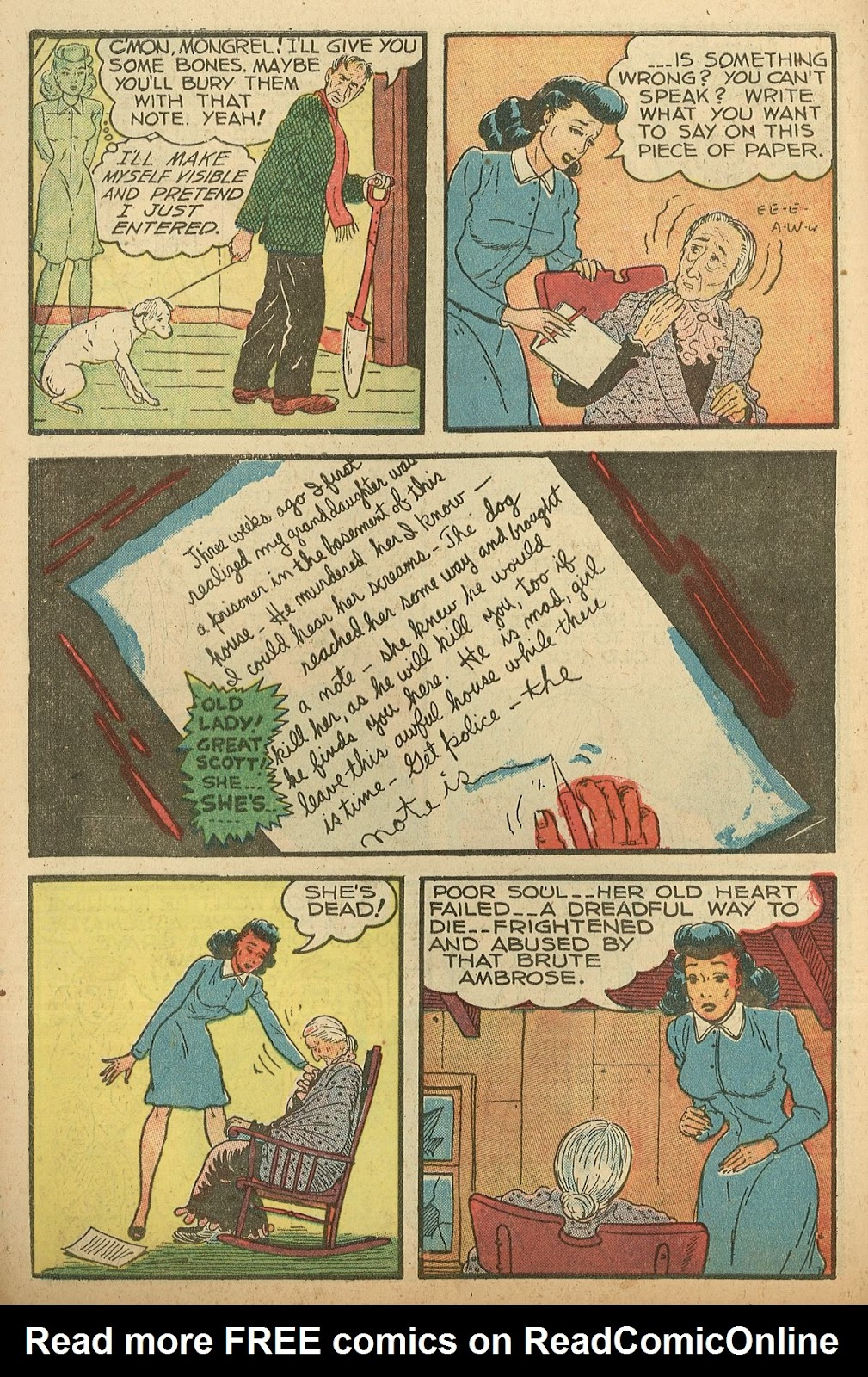Read online Famous Funnies comic -  Issue #148 - 12