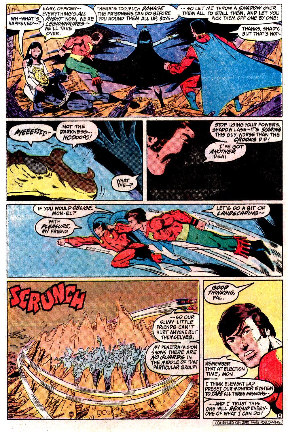 Legion of Super-Heroes (1980) 291 Page 8