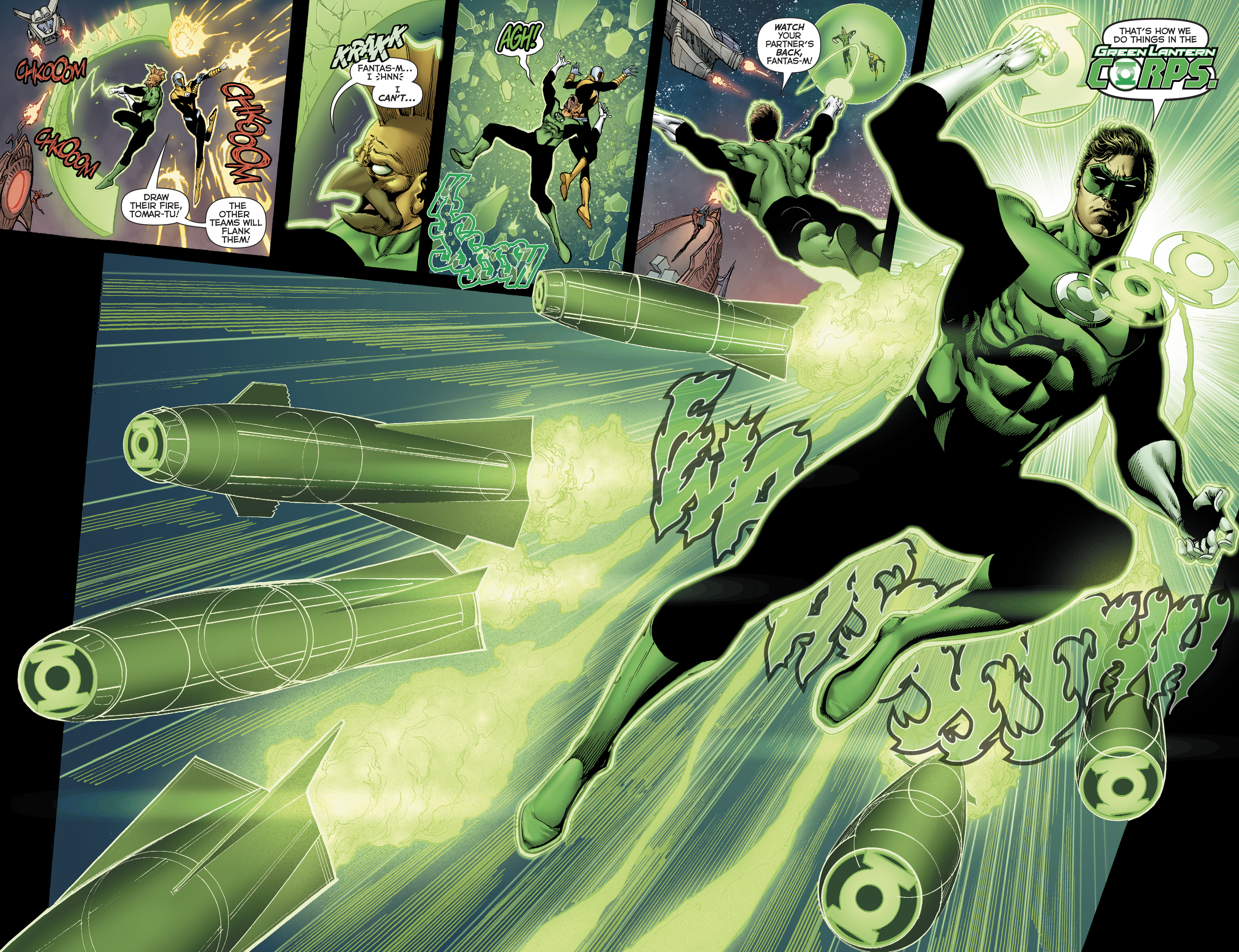 Read online Hal Jordan And The Green Lantern Corps comic -  Issue #22 - 14
