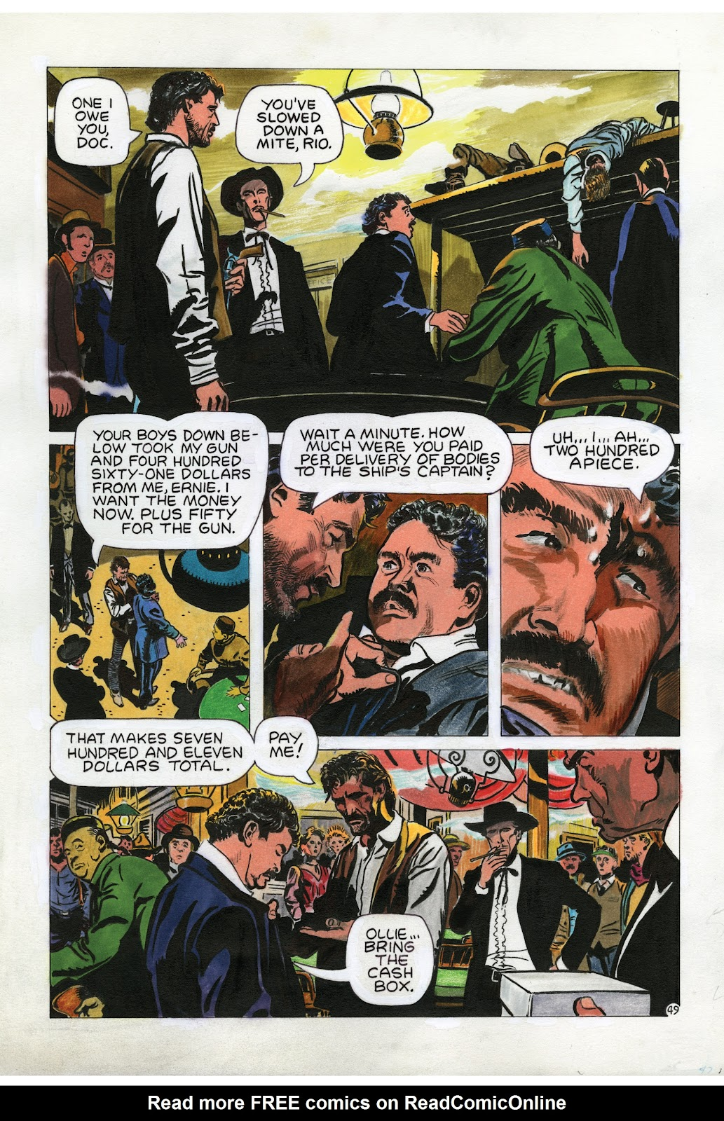 Read online Doug Wildey's Rio: The Complete Saga comic -  Issue # TPB (Part 2) - 84