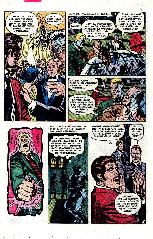 Read online Blackhawk (1957) comic -  Issue #252 - 17