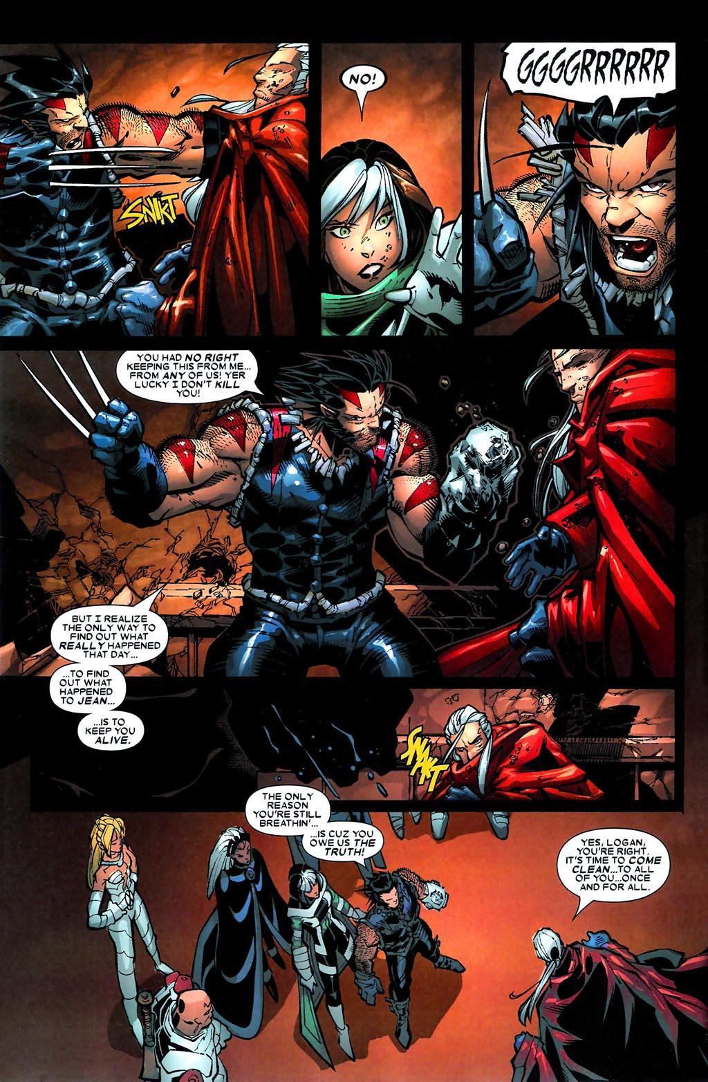 Read online Age of Apocalypse (2005) comic -  Issue #5 - 5