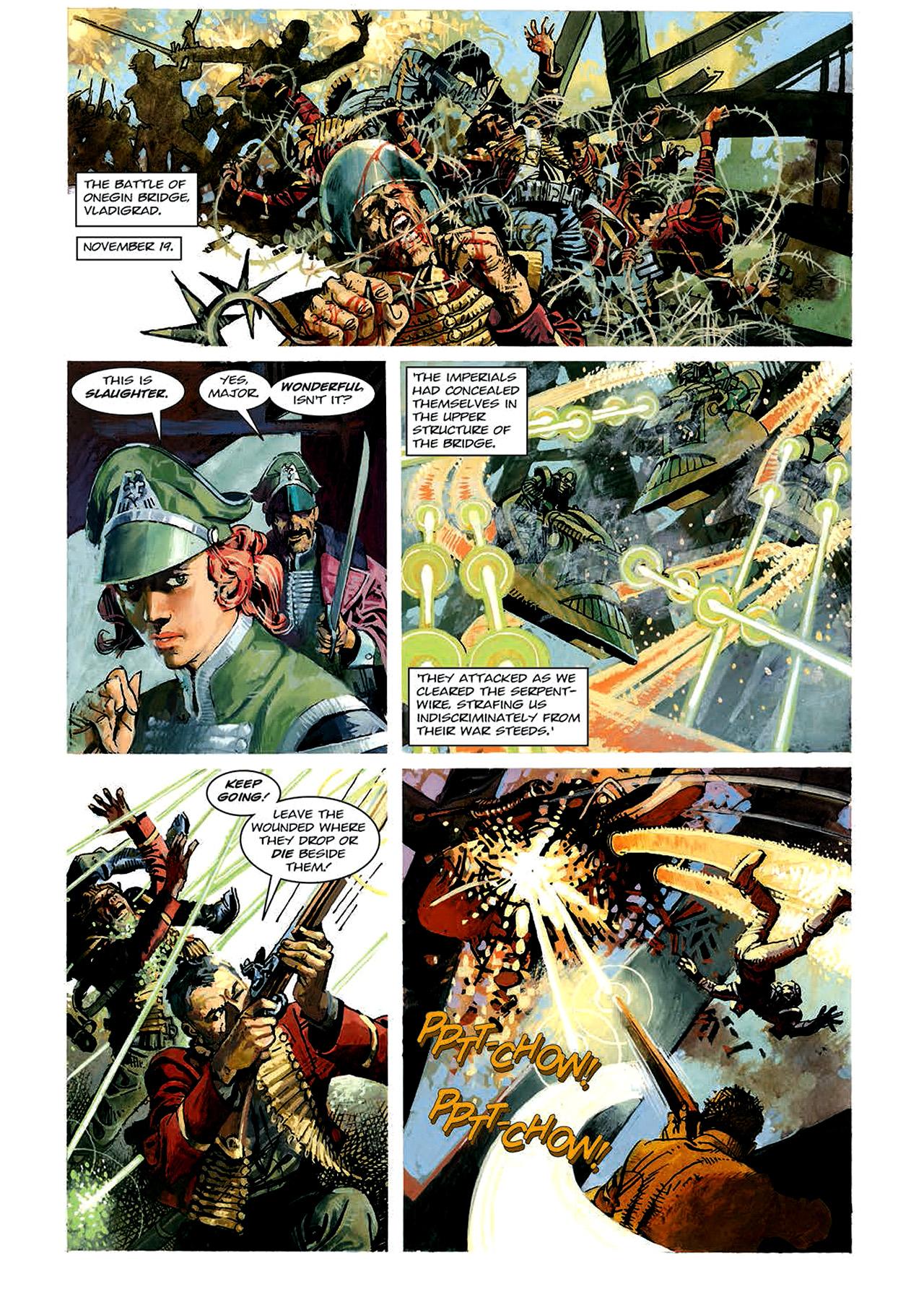 Read online Nikolai Dante comic -  Issue # TPB 4 - 71