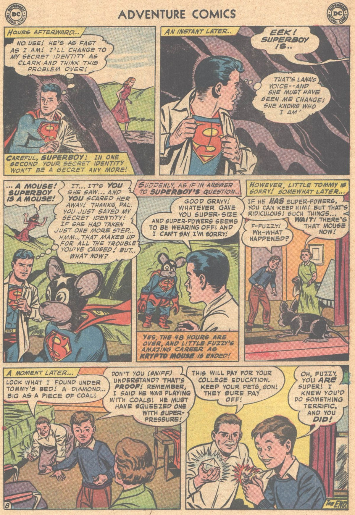 Read online Adventure Comics (1938) comic -  Issue #318 - 32