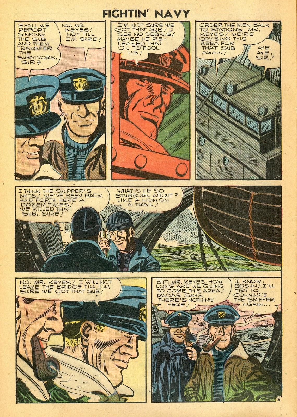 Read online Fightin' Navy comic -  Issue #77 - 8