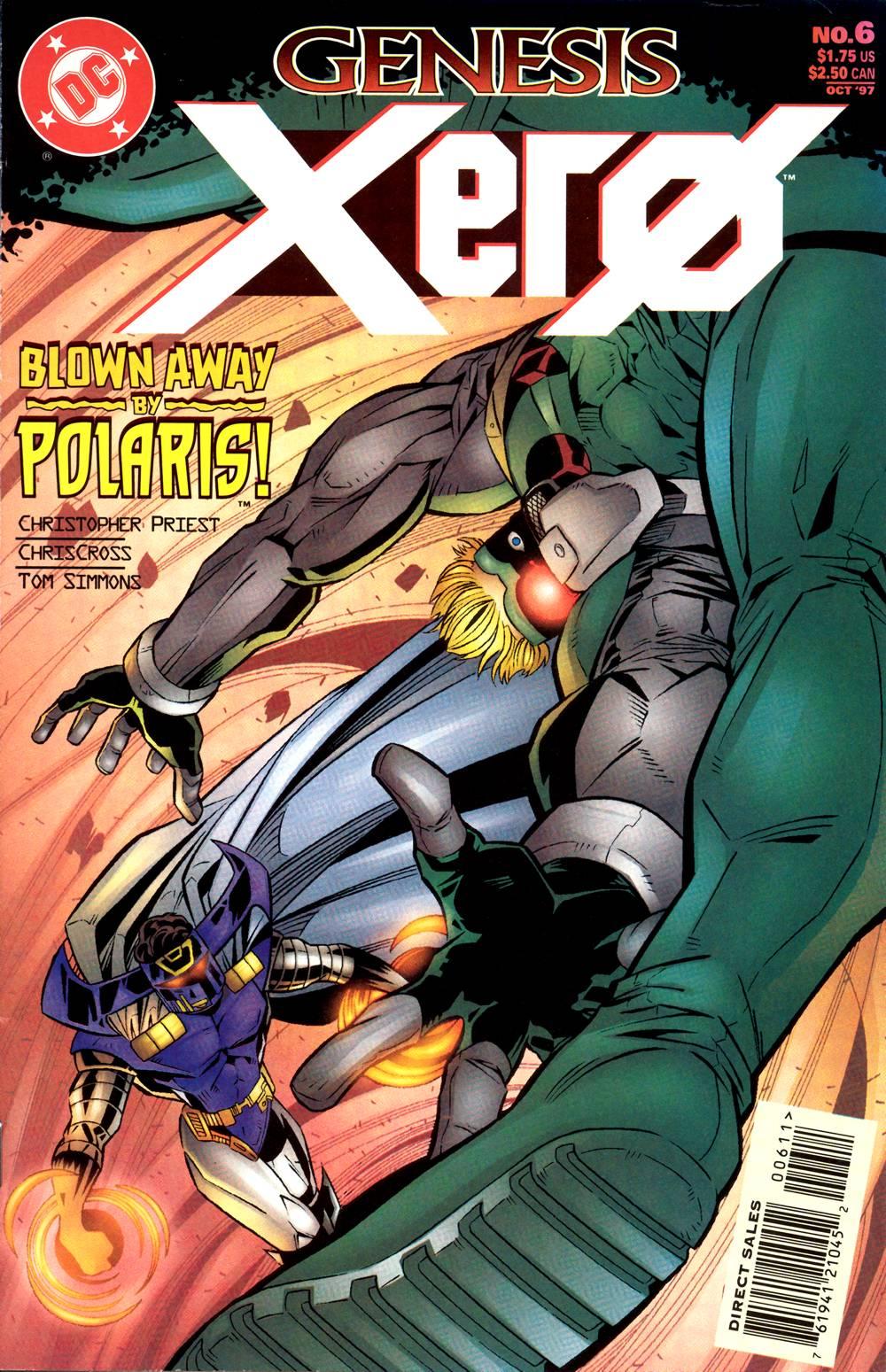 Read online Xero comic -  Issue #6 - 2