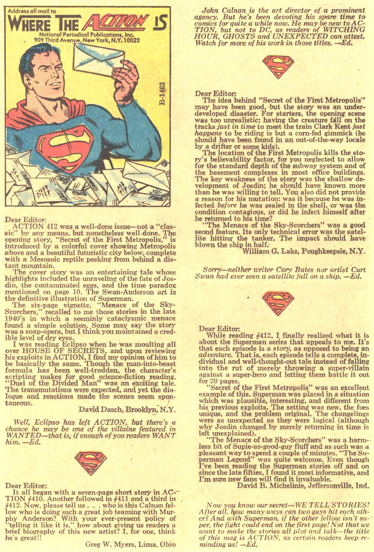 Read online Action Comics (1938) comic -  Issue #416 - 23