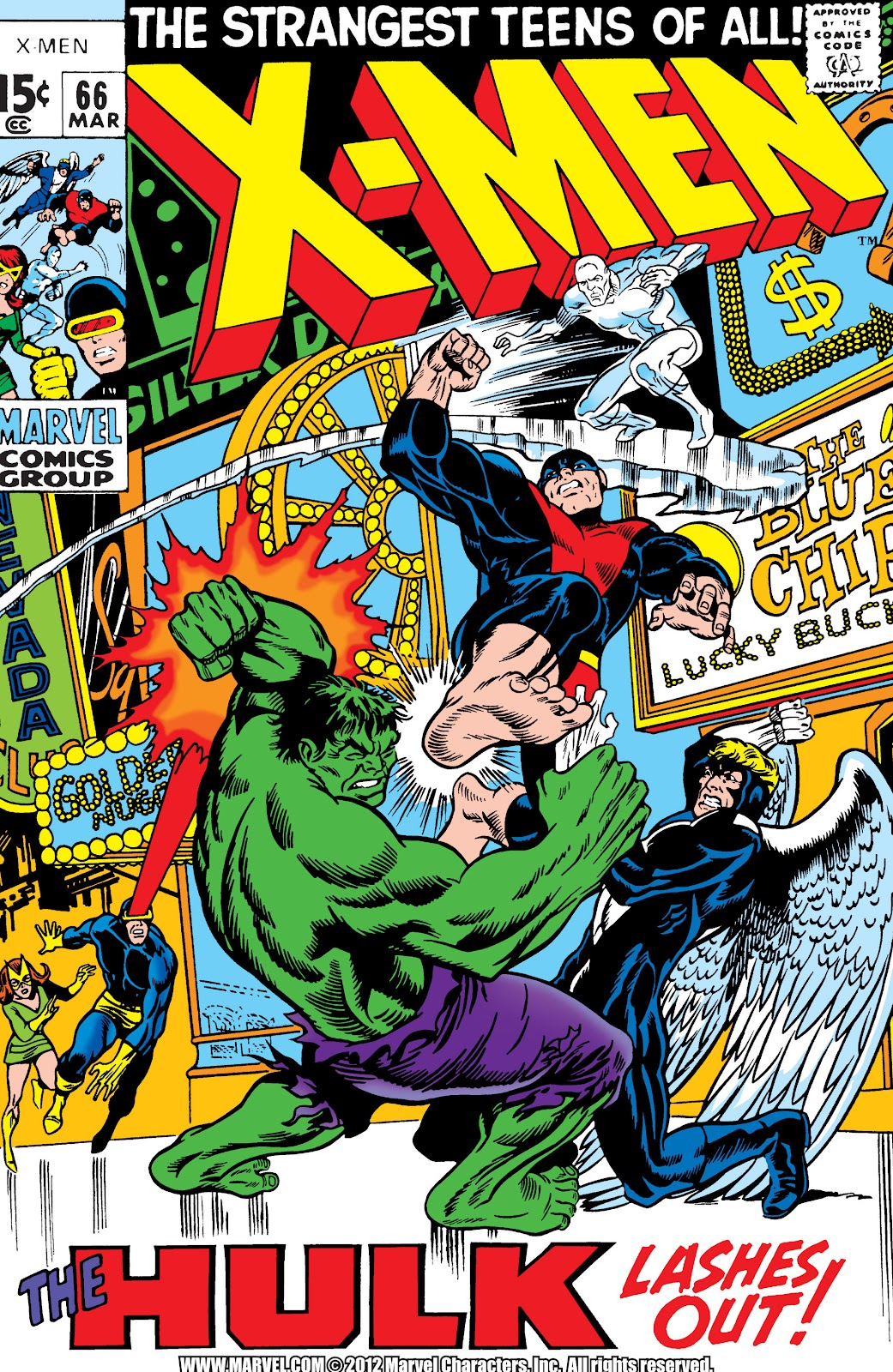 Uncanny X-Men (1963) issue 66 - Page 1