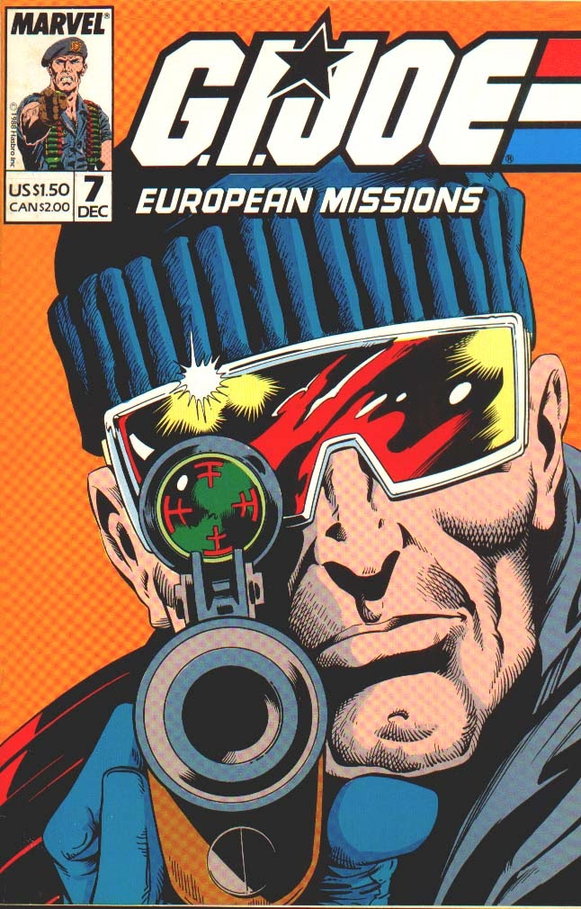 G.I. Joe European Missions issue 7 - Page 1