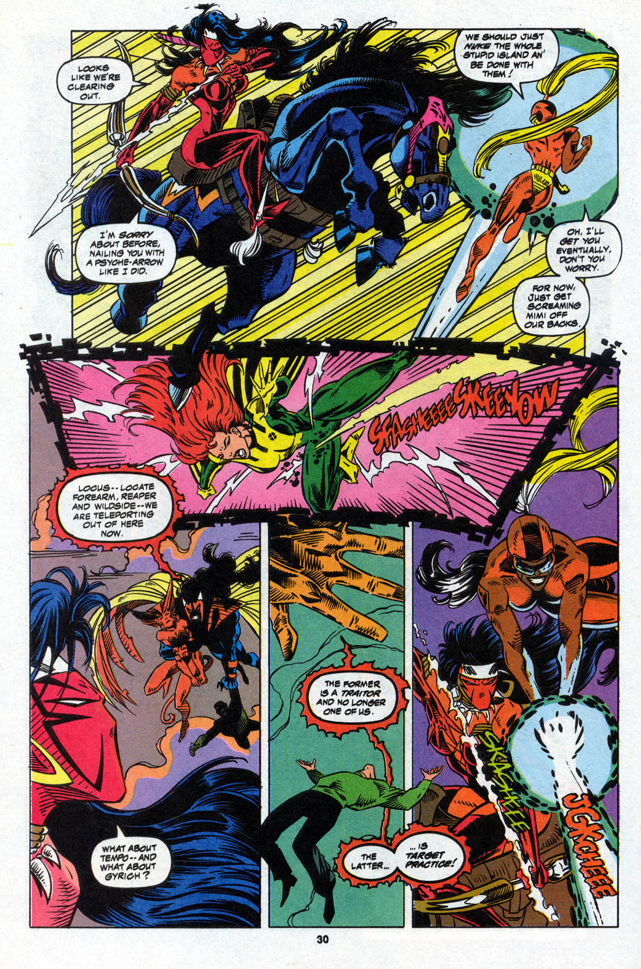 Read online X-Force (1991) comic -  Issue #28 - 30