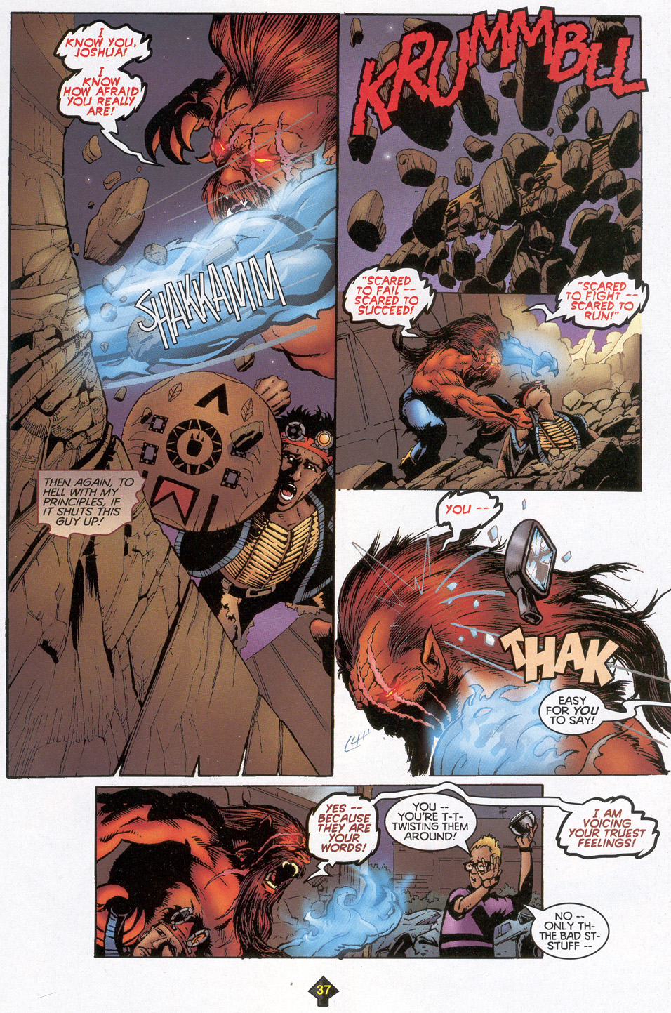 Read online Turok: Redpath comic -  Issue # Full - 35