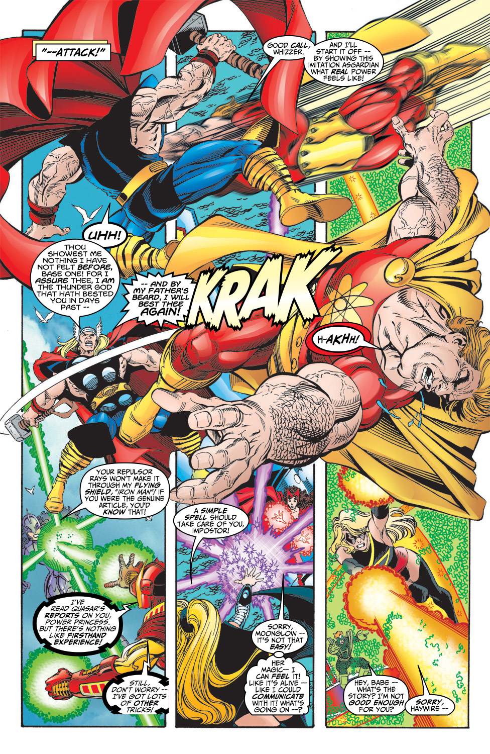 Read online Avengers (1998) comic -  Issue #5 - 13