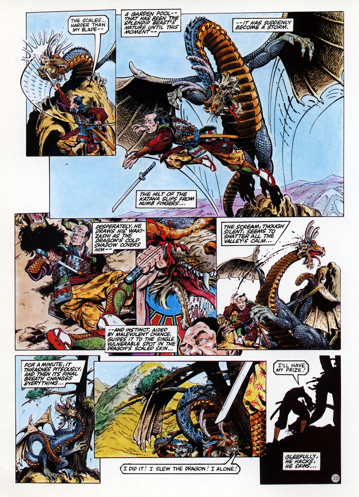 Read online Epic Graphic Novel: Last of the Dragons comic -  Issue # Full - 11