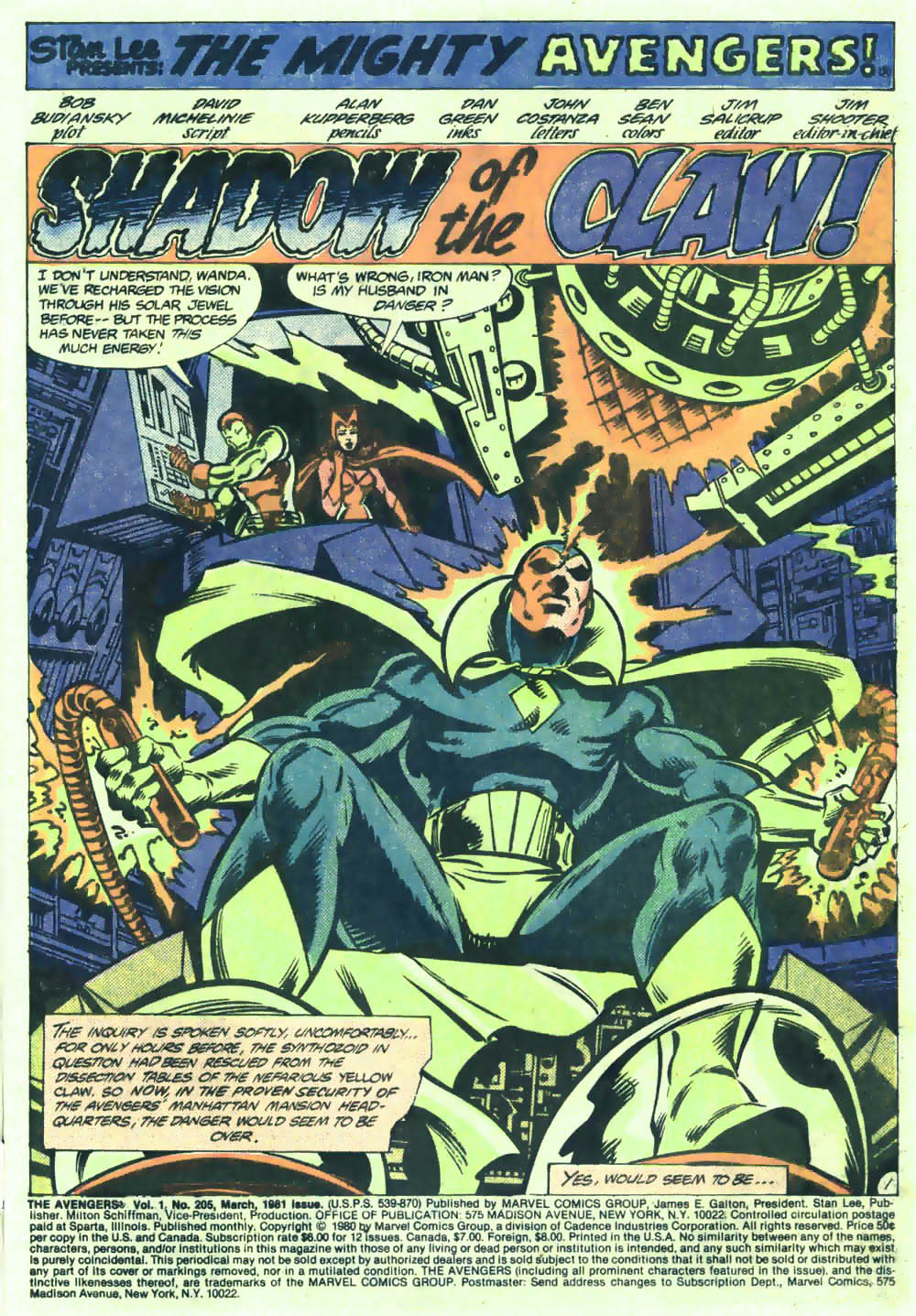 The Avengers (1963) 205 Page 1
