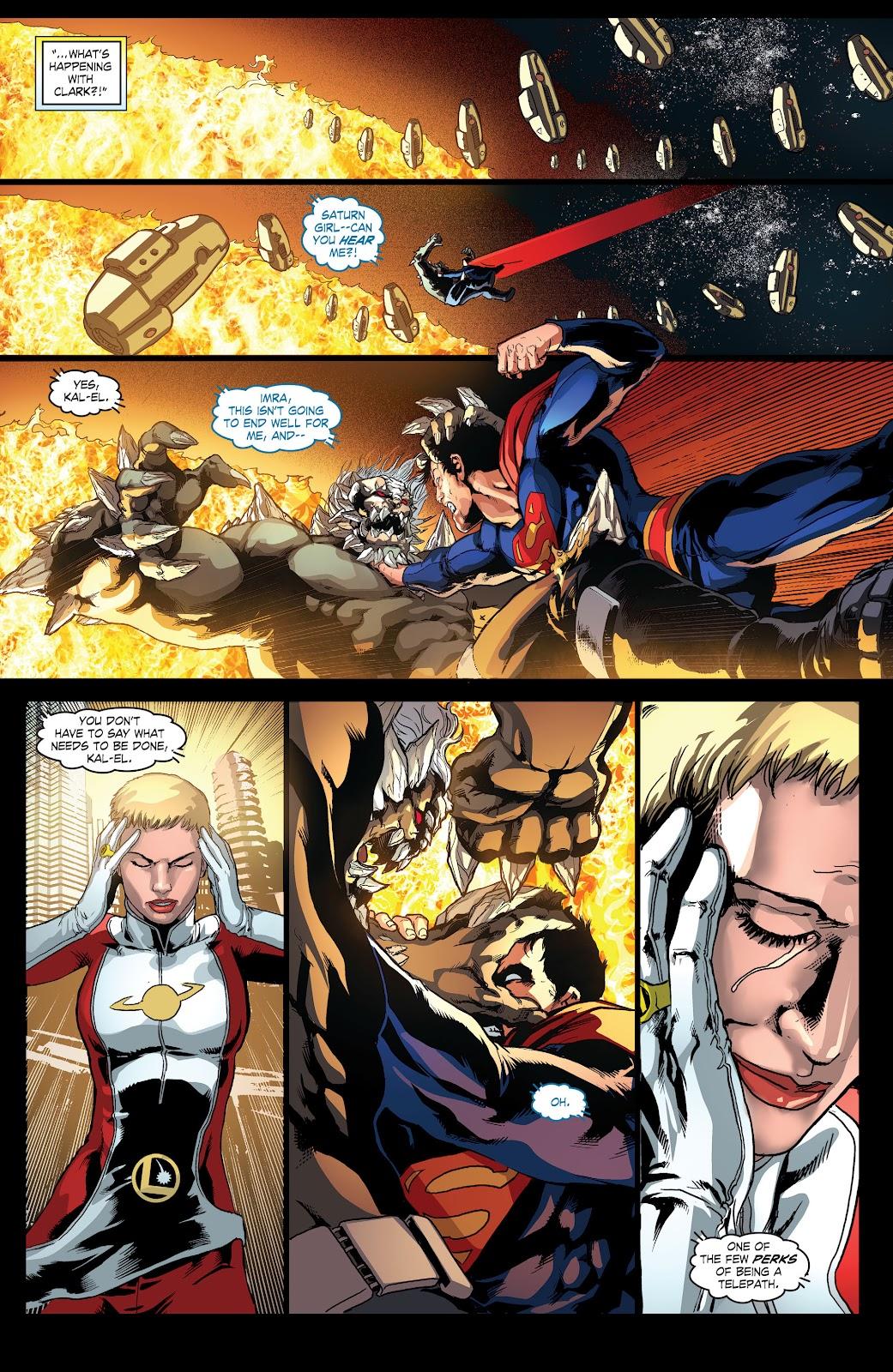 Read online Smallville Season 11 [II] comic -  Issue # TPB 4 - 94