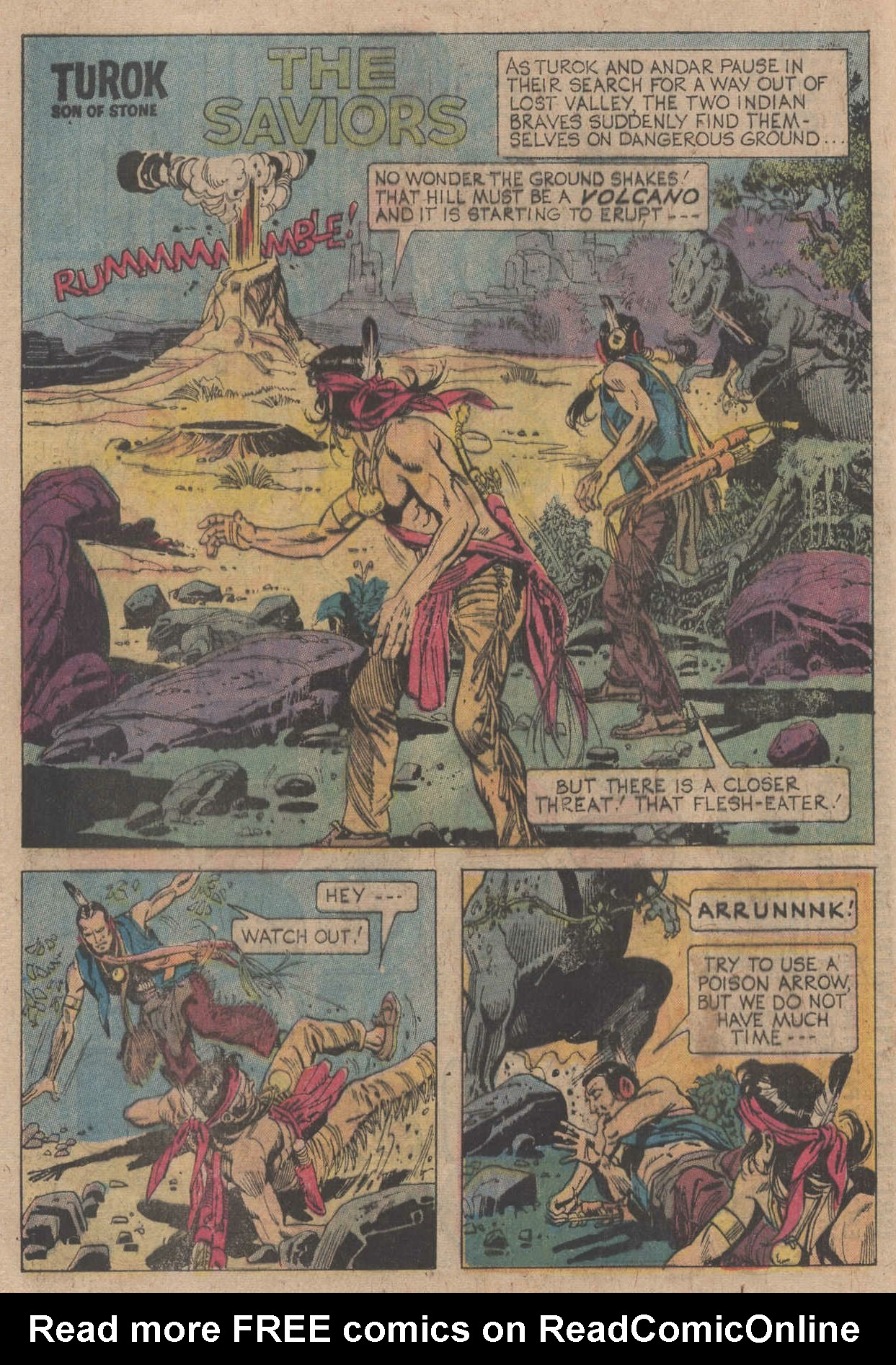 Read online Turok, Son of Stone comic -  Issue #106 - 20