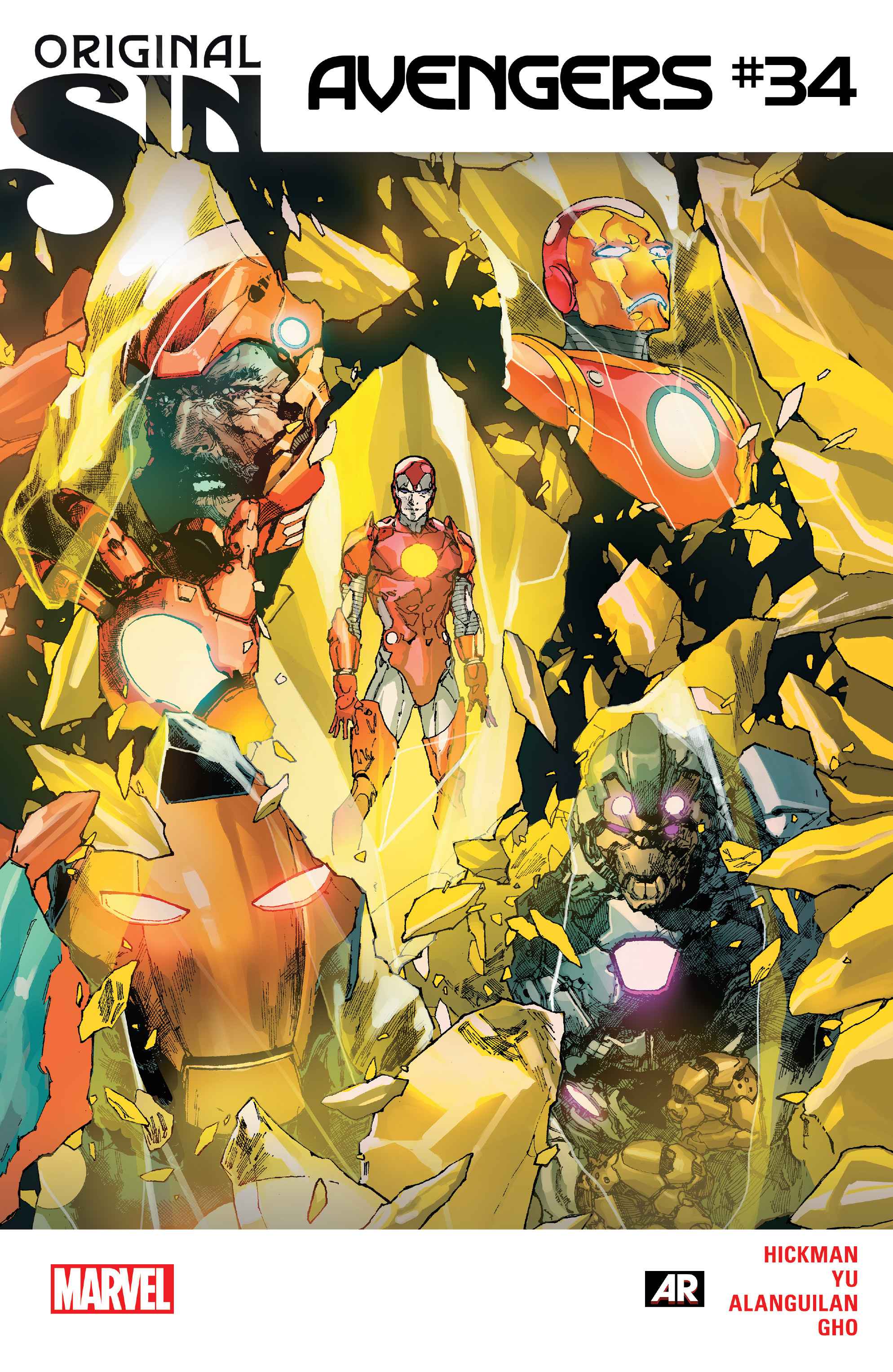 Read online Avengers (2013) comic -  Issue #34 - 1