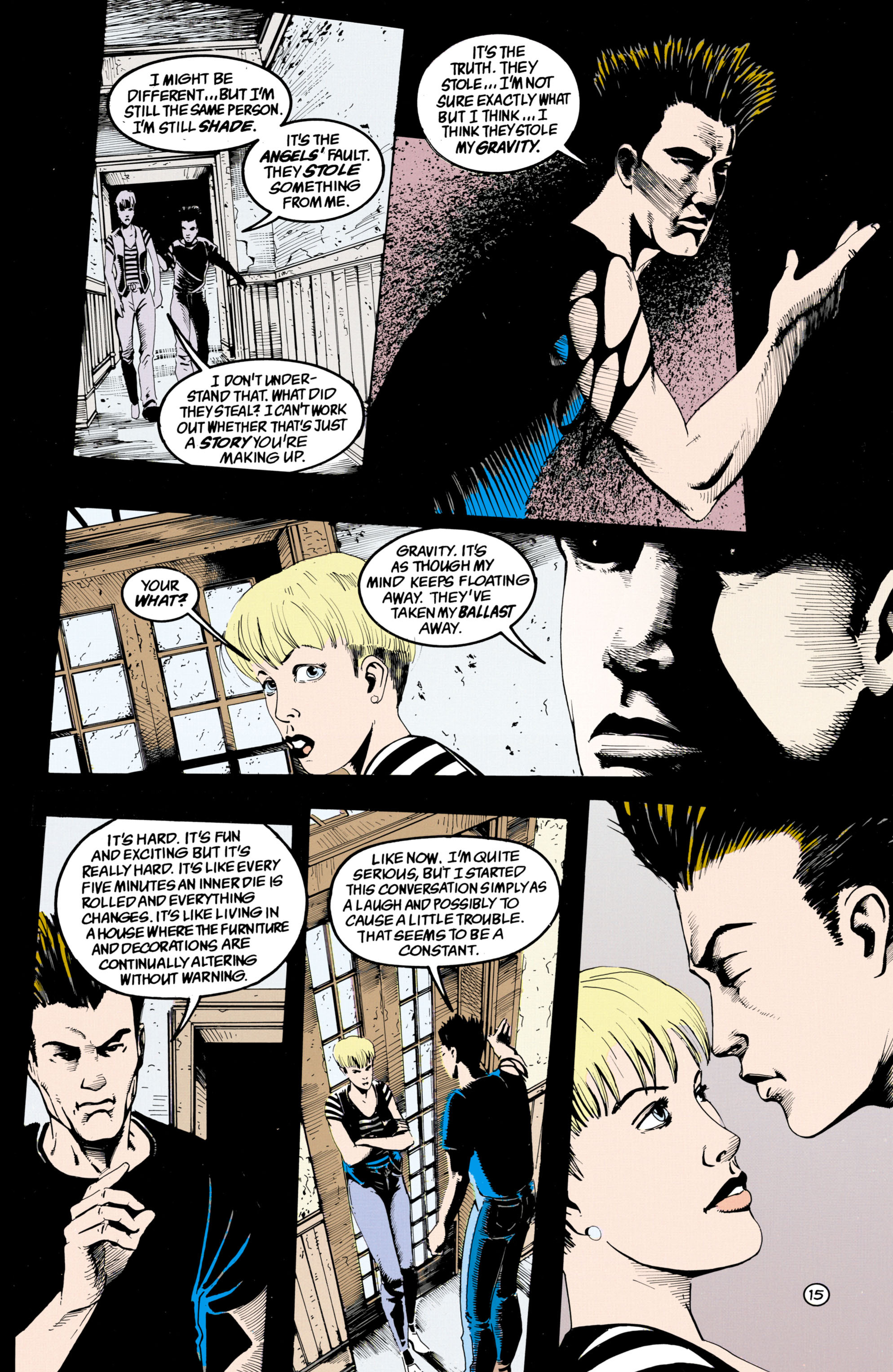 Read online Shade, the Changing Man comic -  Issue #36 - 16
