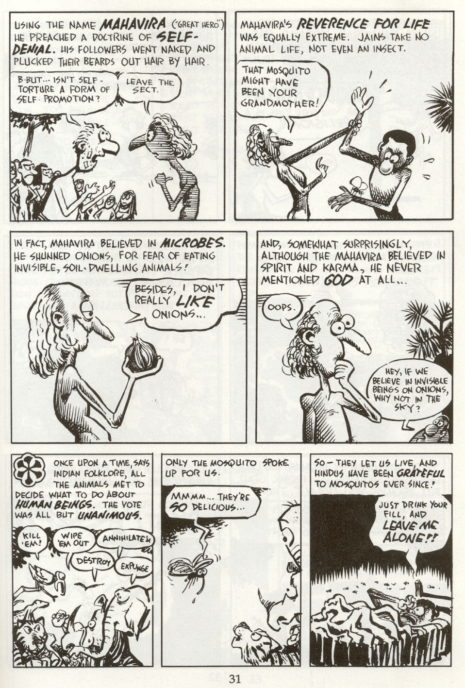 Read online The Cartoon History of the Universe comic -  Issue #8 - 34