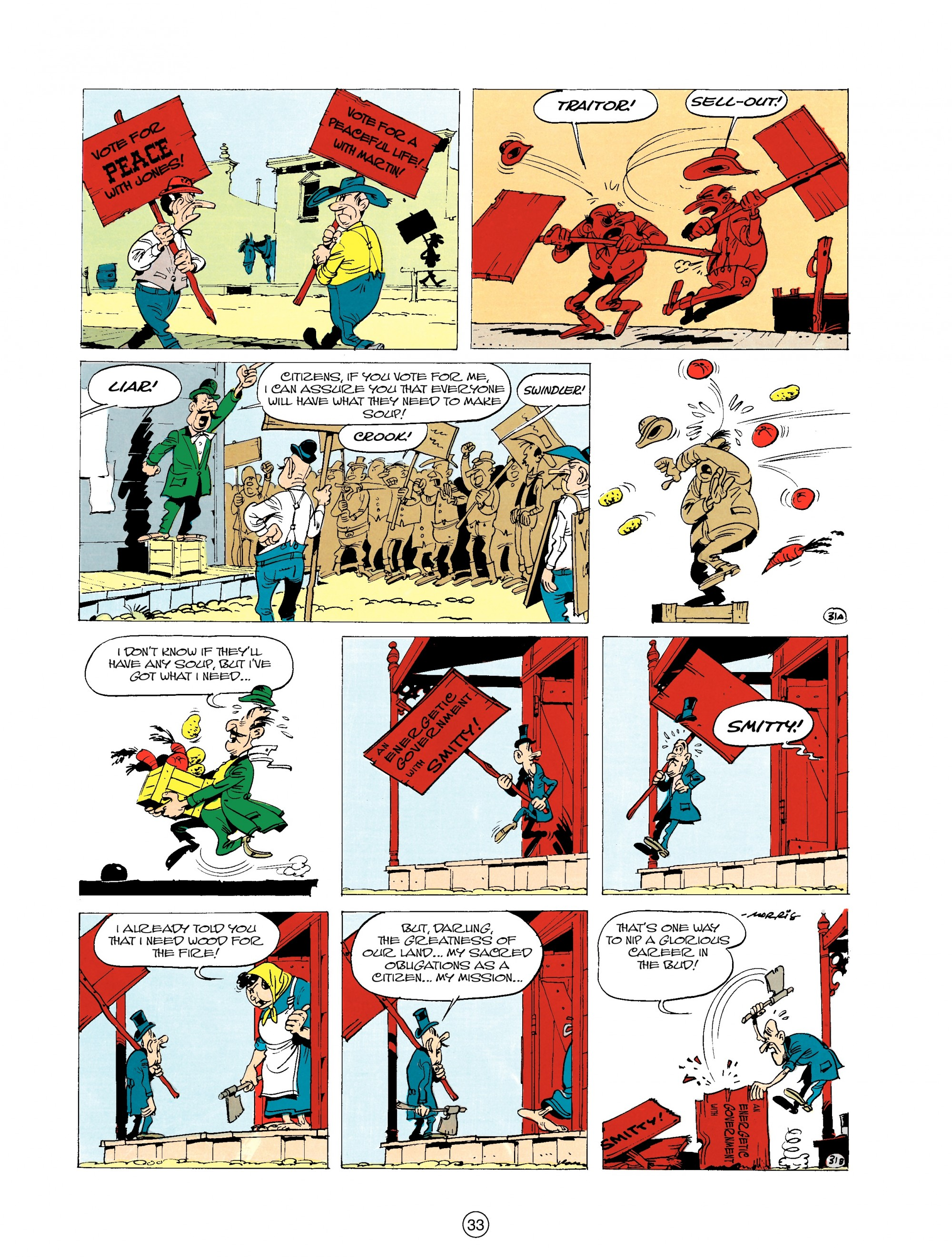 Read online A Lucky Luke Adventure comic -  Issue #20 - 33