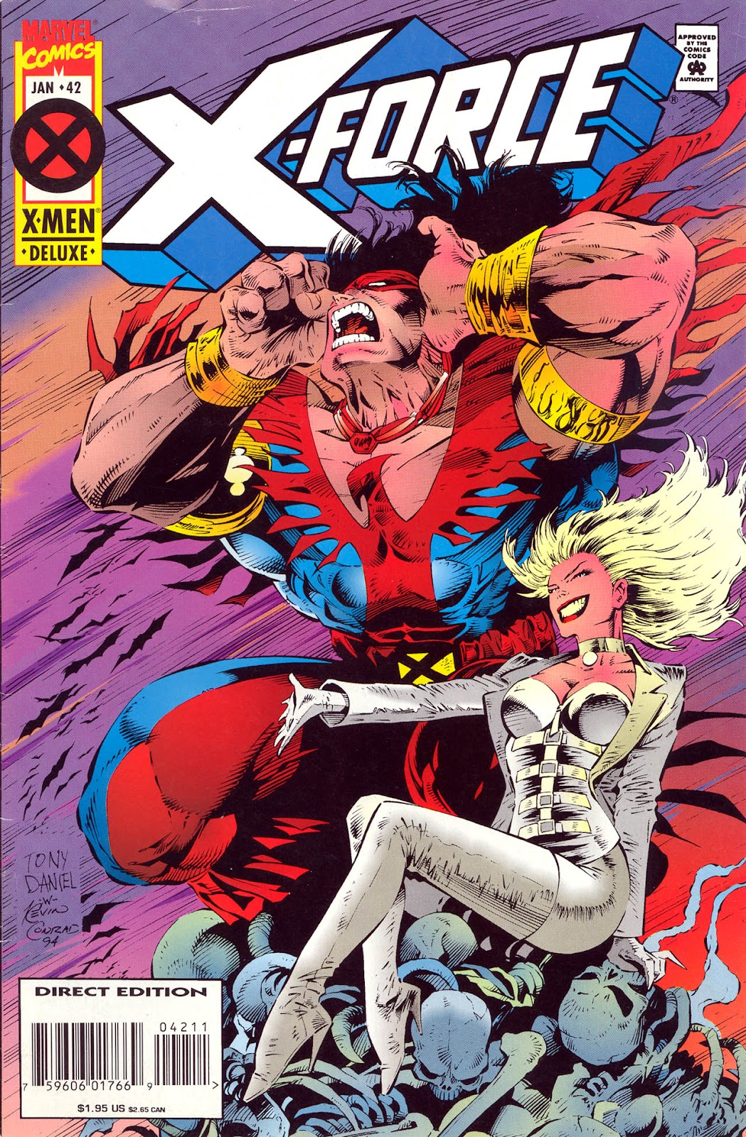 X-Force (1991) 42 Page 1