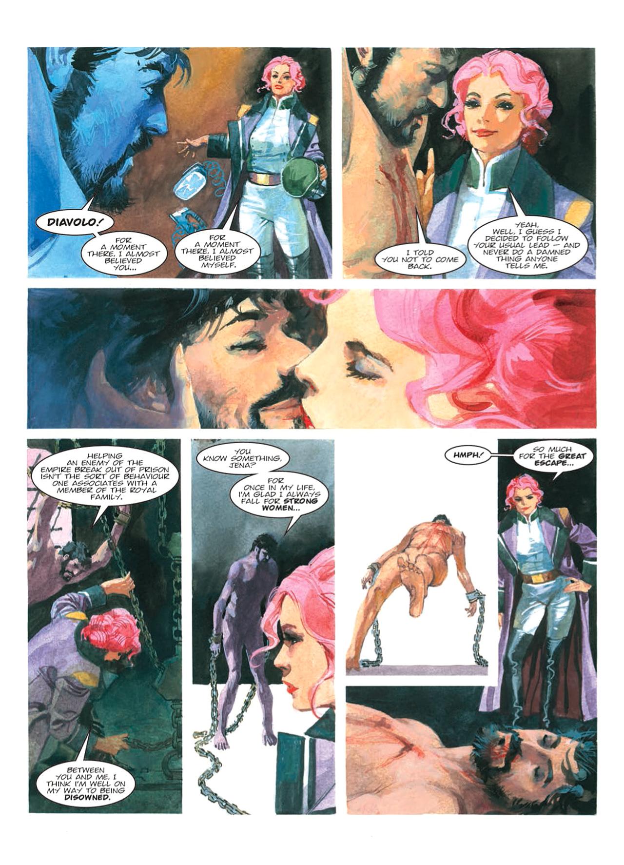 Read online Nikolai Dante comic -  Issue # TPB 9 - 95