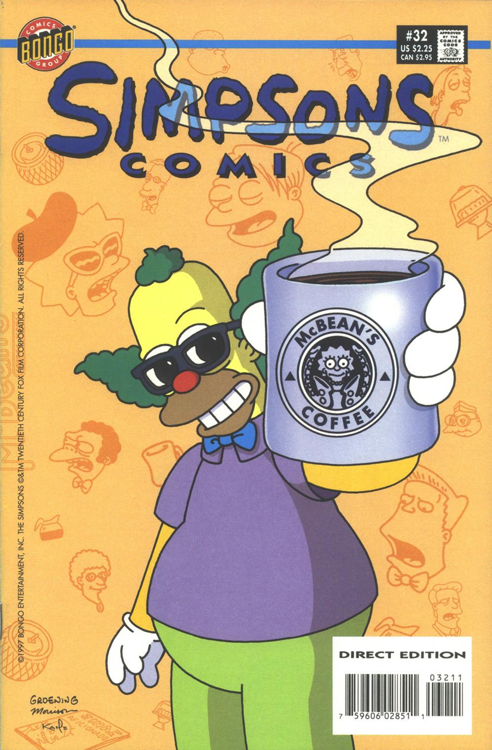 Read online Simpsons Comics comic -  Issue #32 - 1