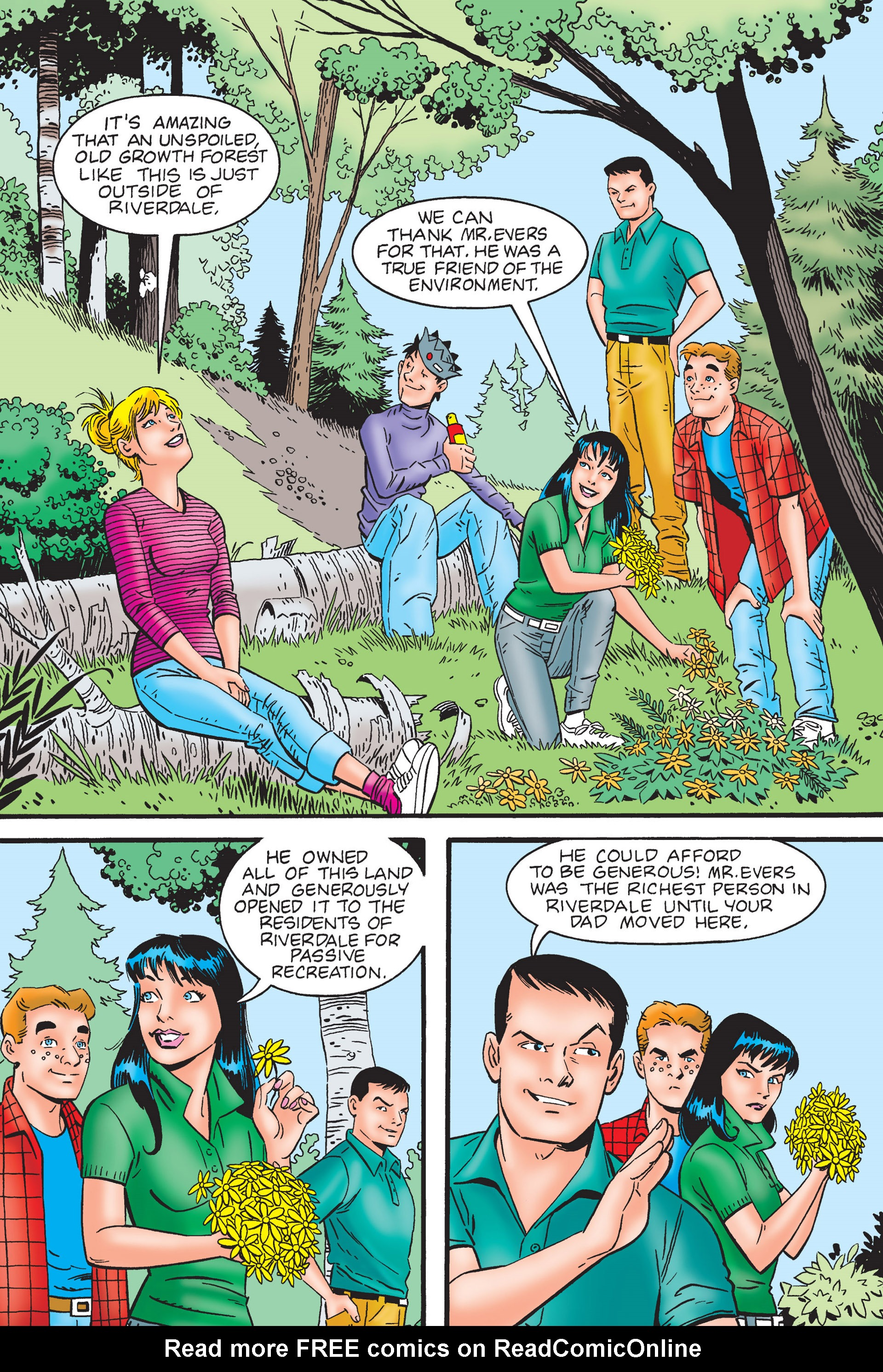 Read online Archie's New Look Series comic -  Issue #4 - 8