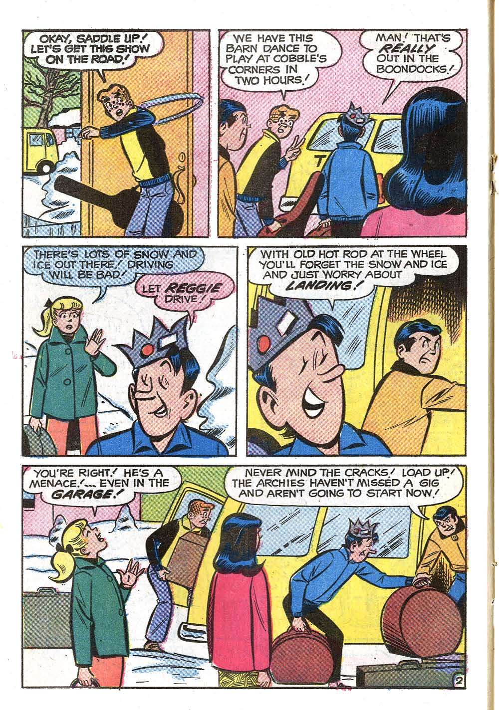 Read online Archie (1960) comic -  Issue #208 - 14