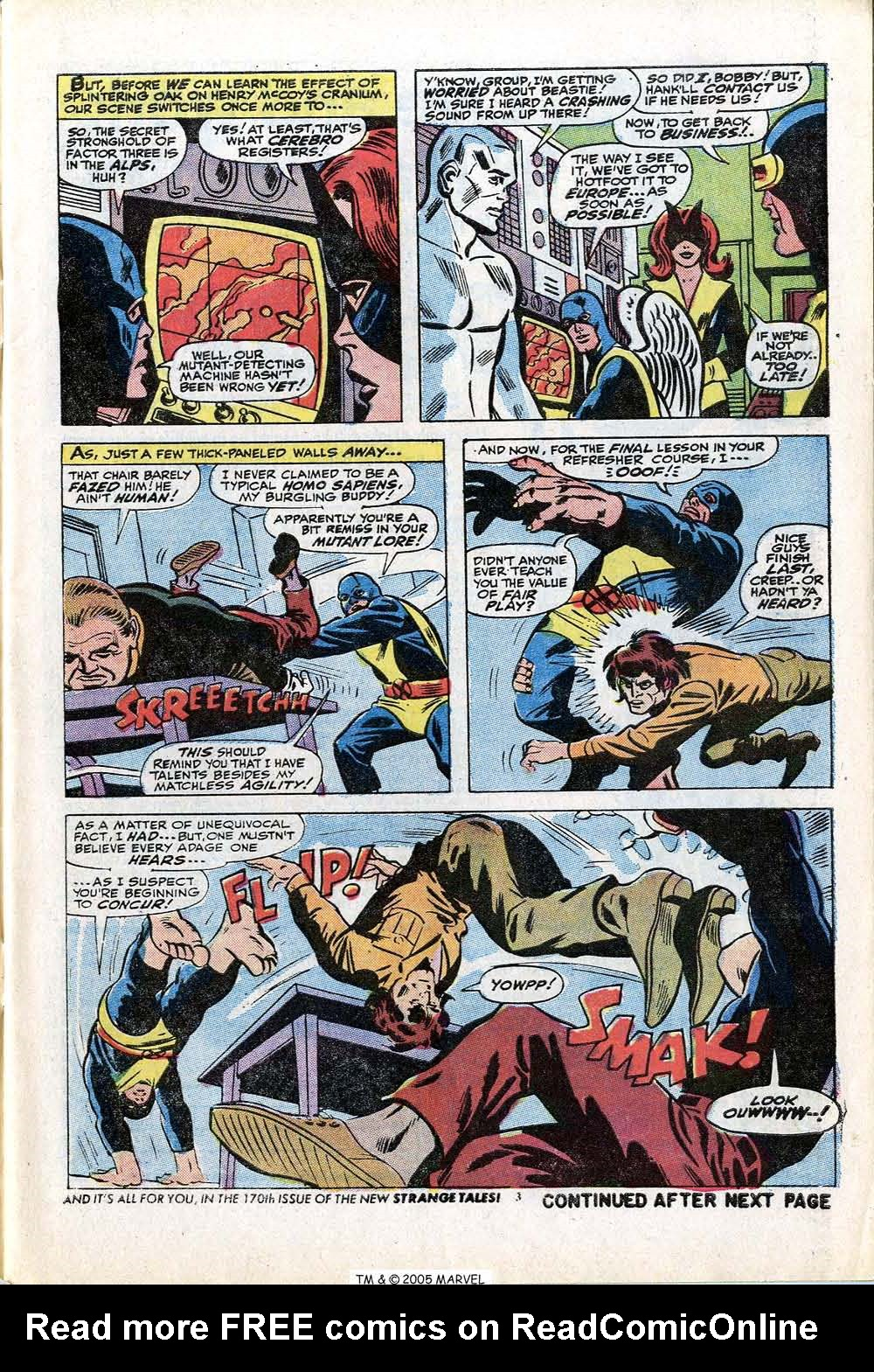 Read online Uncanny X-Men (1963) comic -  Issue #84 - 5