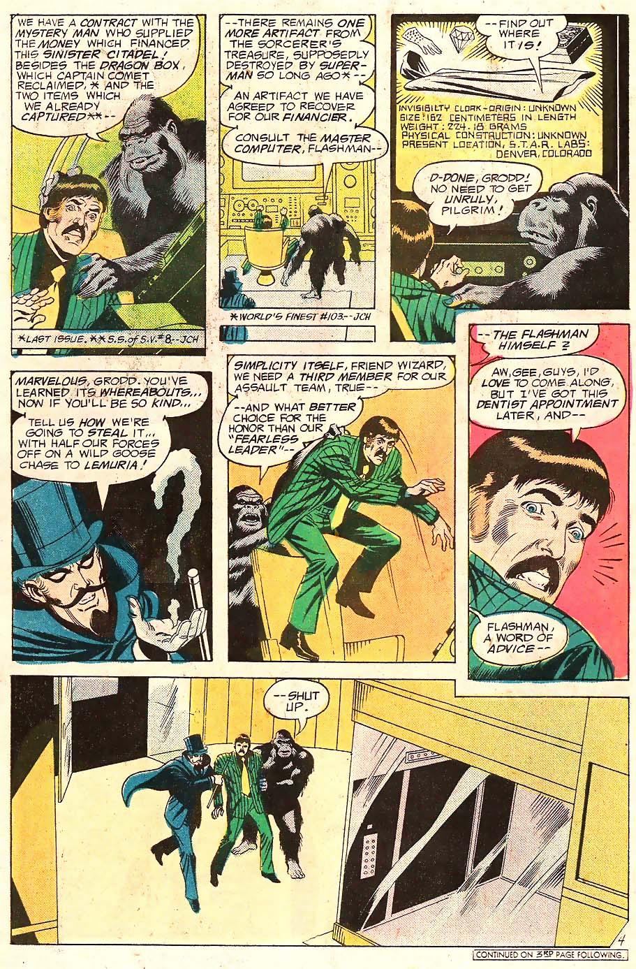 Read online Secret Society of Super-Villains comic -  Issue #10 - 5