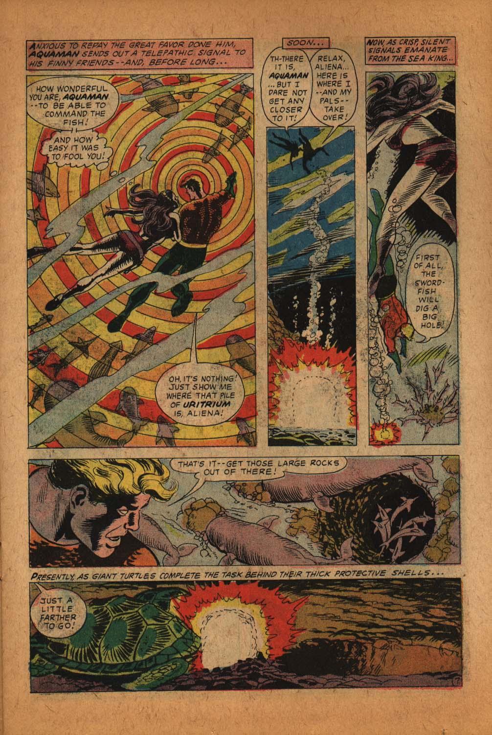 Read online Aquaman (1962) comic -  Issue #39 - 11