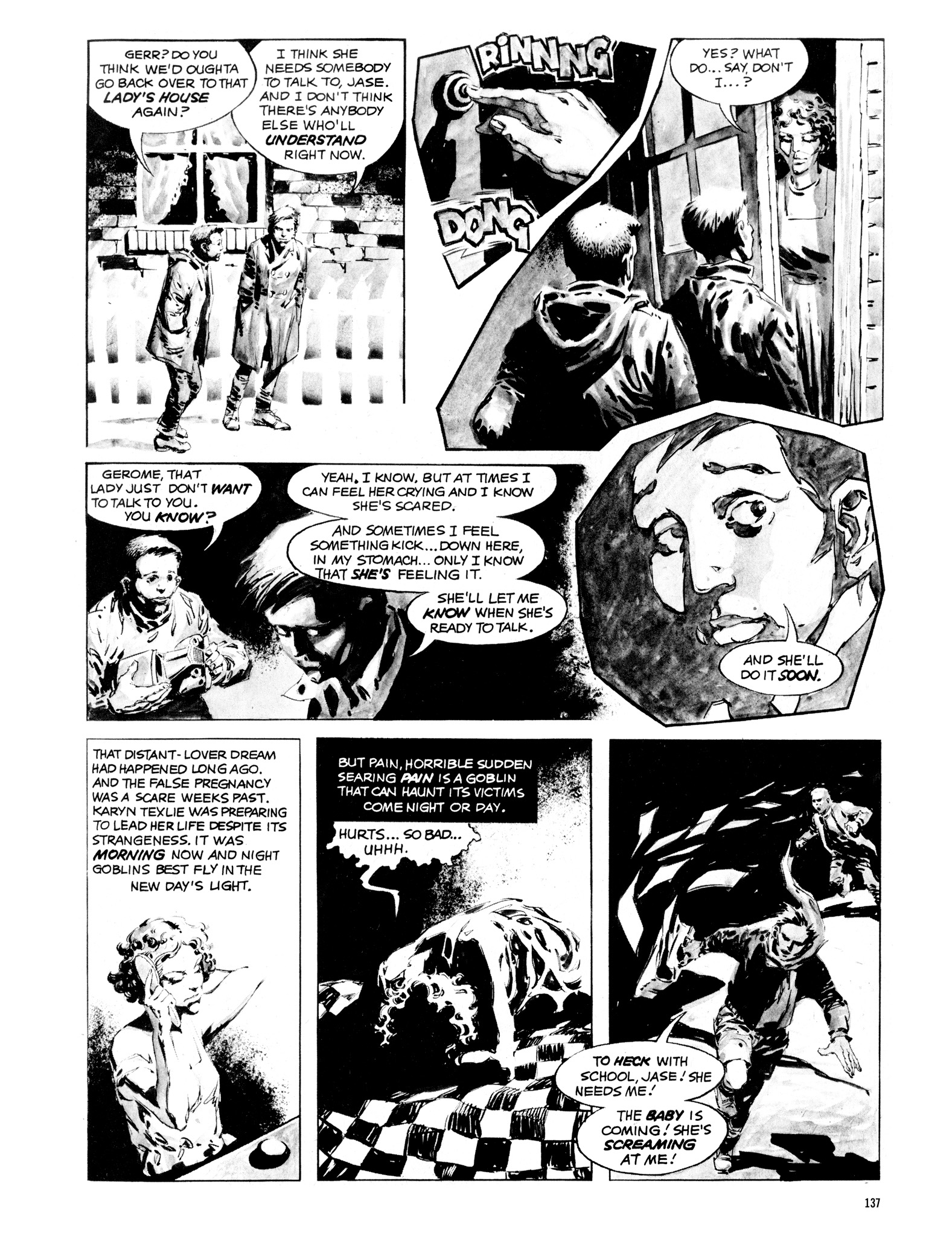 Read online Eerie Archives comic -  Issue # TPB 16 - 138