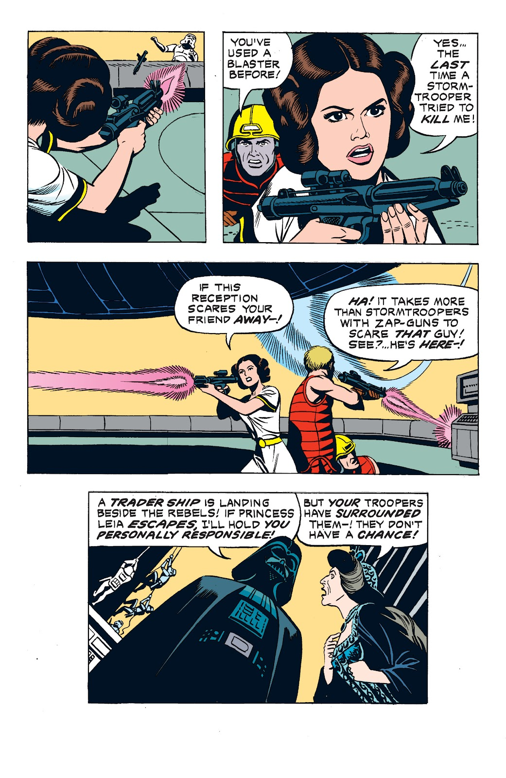 Read online Star Wars Legends: The Newspaper Strips - Epic Collection comic -  Issue # TPB (Part 2) - 72