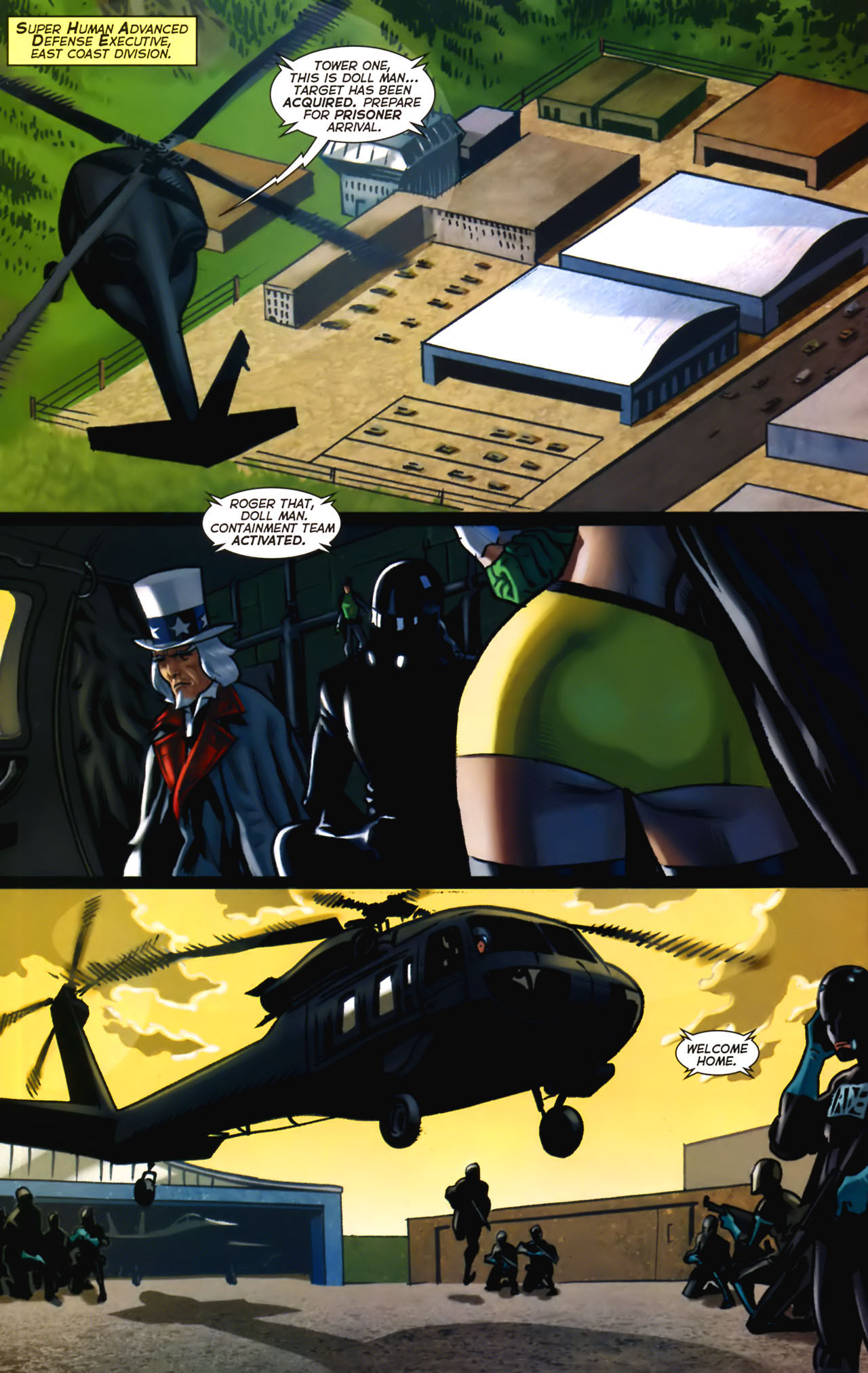 Read online Uncle Sam and the Freedom Fighters (2006) comic -  Issue #2 - 13