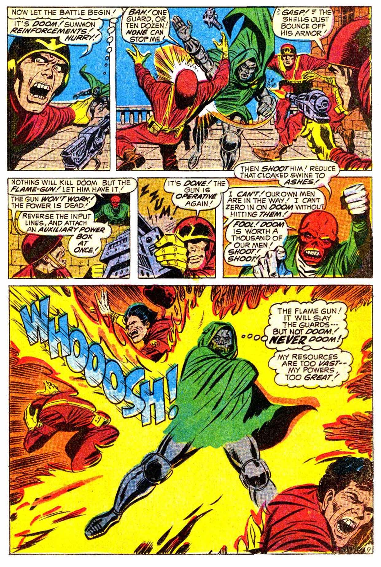 Read online Astonishing Tales (1970) comic -  Issue #5 - 8