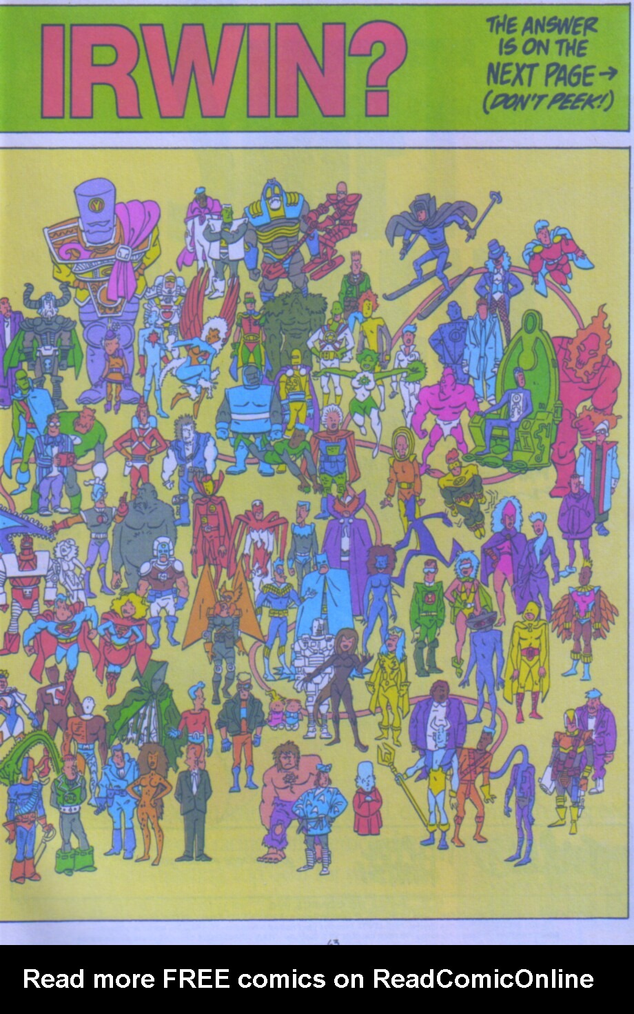 Read online Ambush Bug Nothing Special comic -  Issue # Full - 56