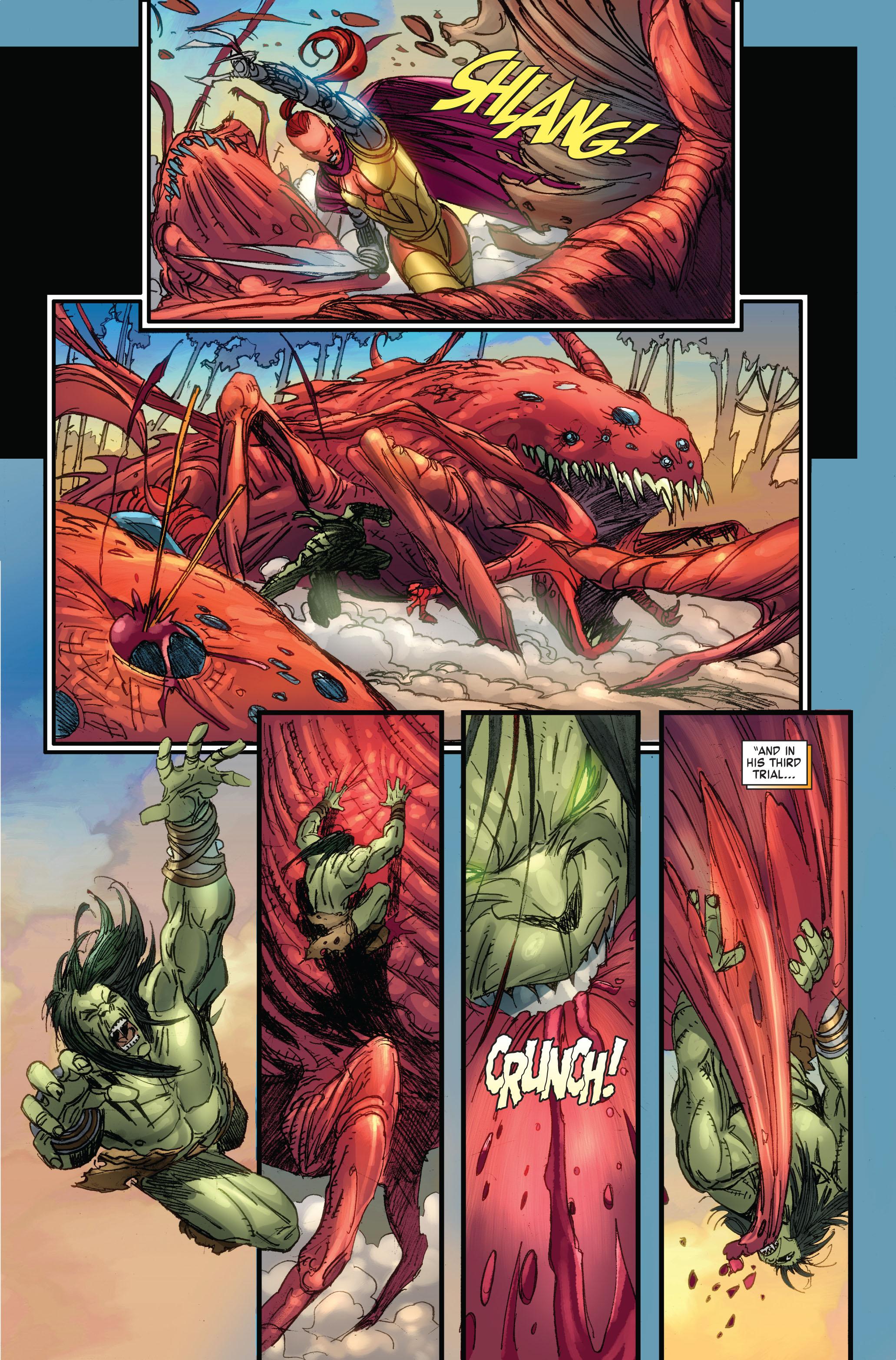 Read online Skaar: Son of Hulk comic -  Issue #4 - 8