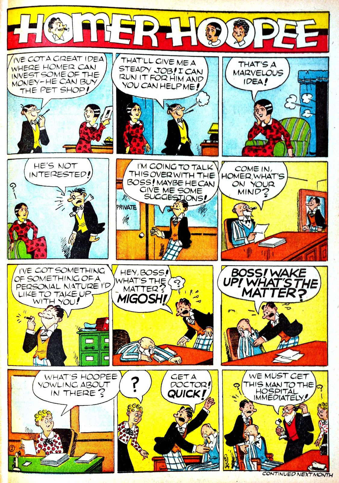 Read online Famous Funnies comic -  Issue #71 - 61