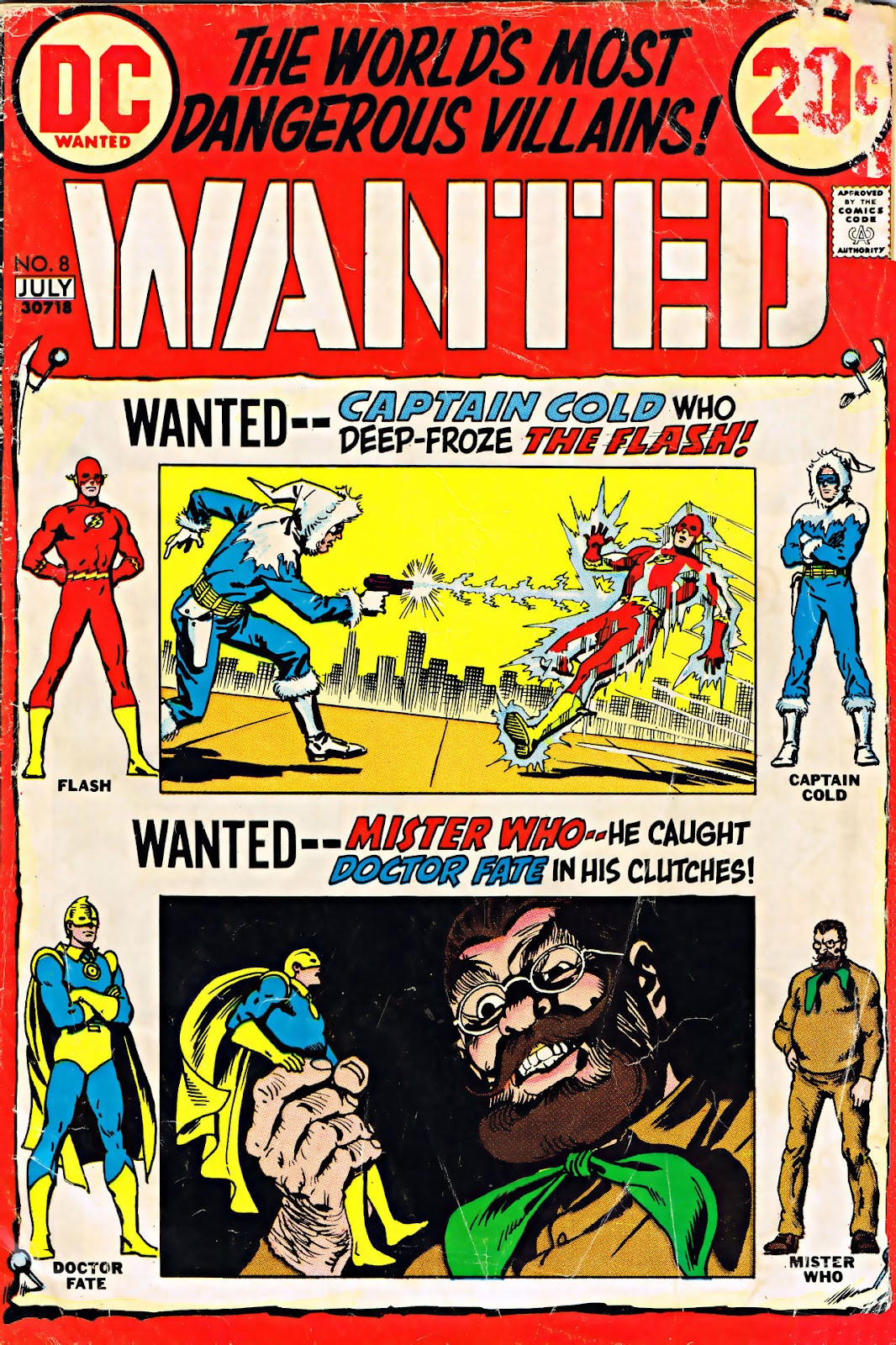 Wanted, the Worlds Most Dangerous Villains 8 Page 1