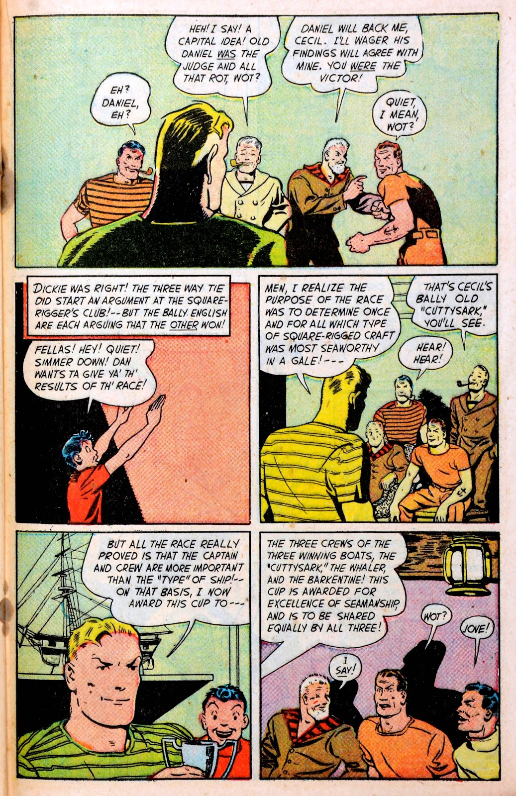 Read online Famous Funnies comic -  Issue #194 - 33