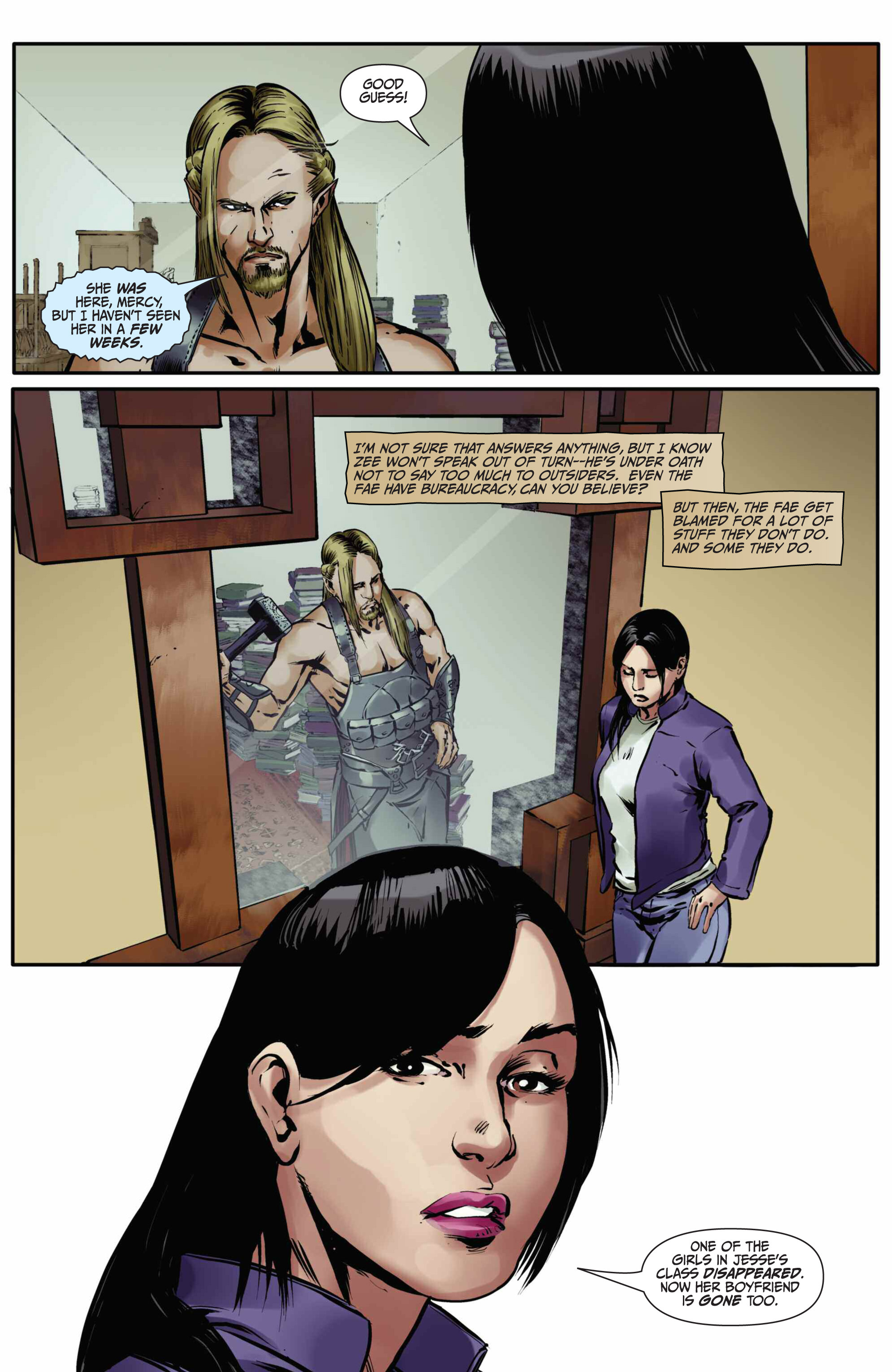Read online Mercy Thompson comic -  Issue #5 - 13