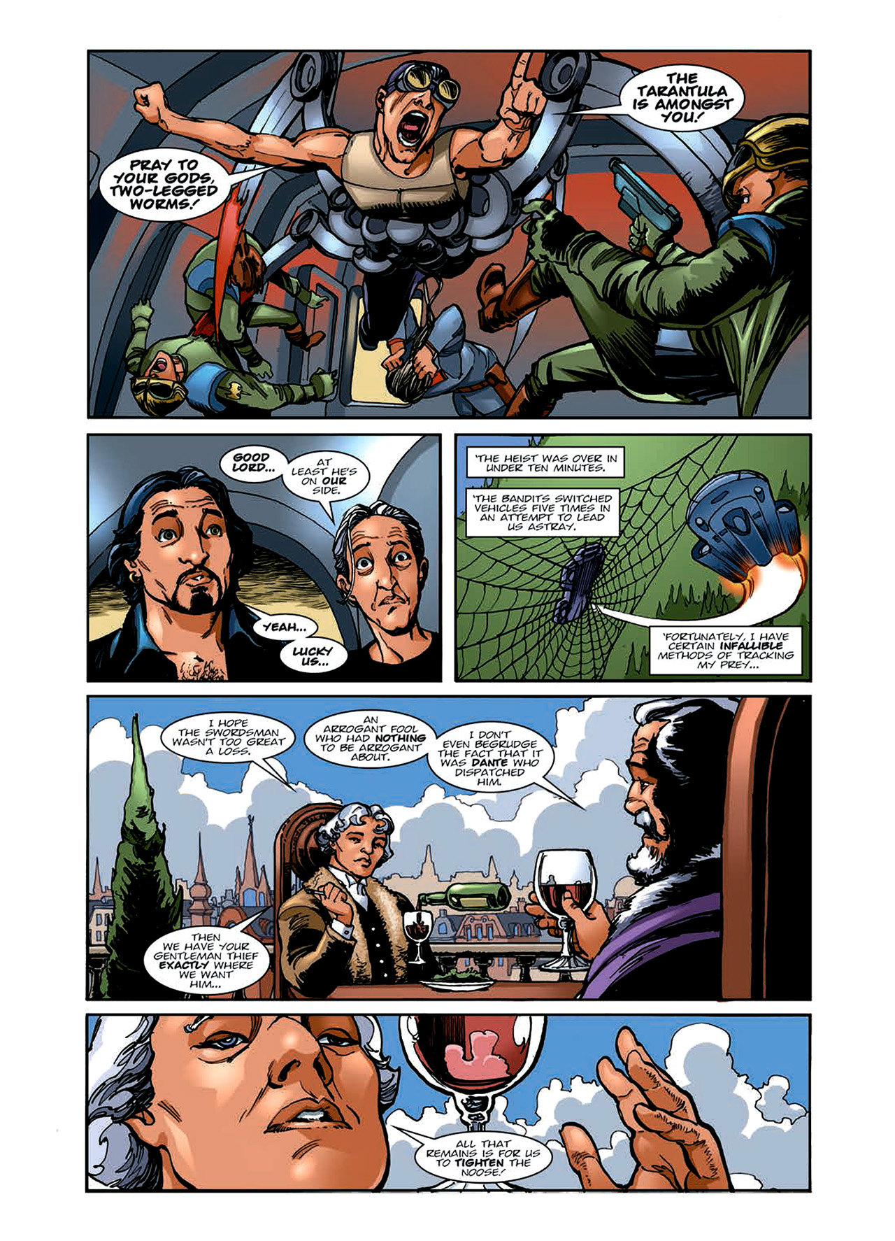 Read online Nikolai Dante comic -  Issue # TPB 6 - 54